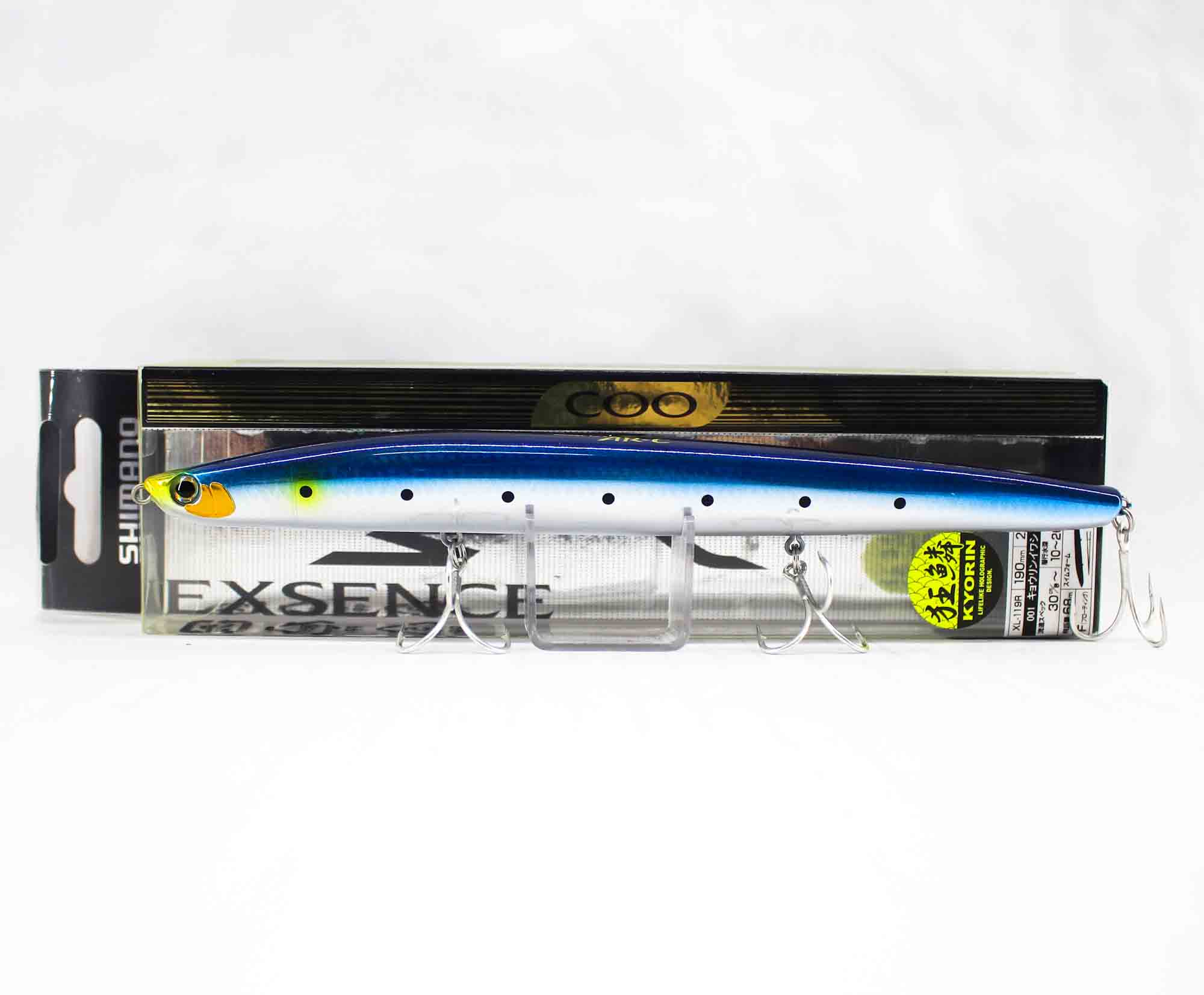 Shimano XL-119R Exsence COO 190F Floating Lure 001 513946