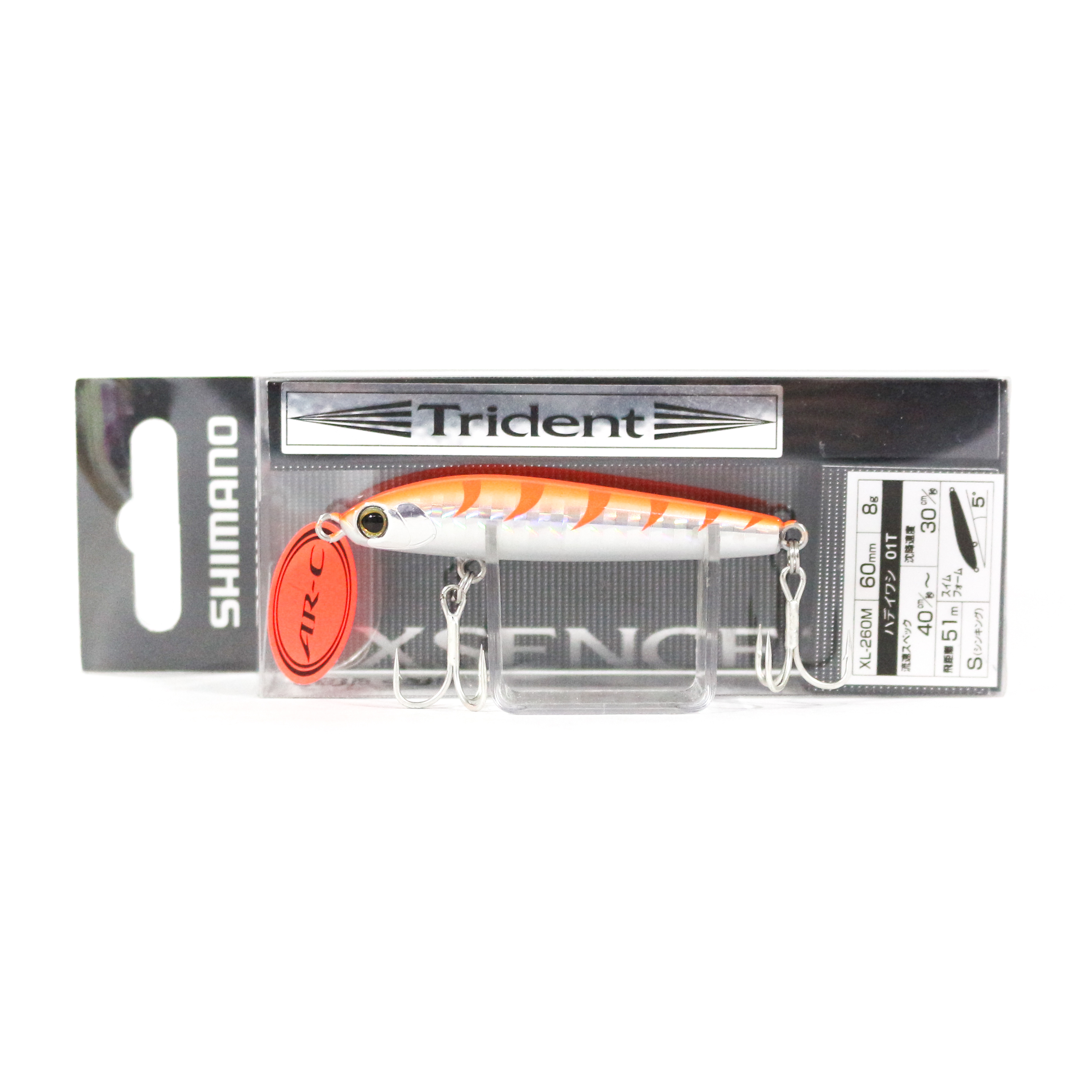Shimano XL-260M Exsence Trident 60S Sinking Lure 23T 545626