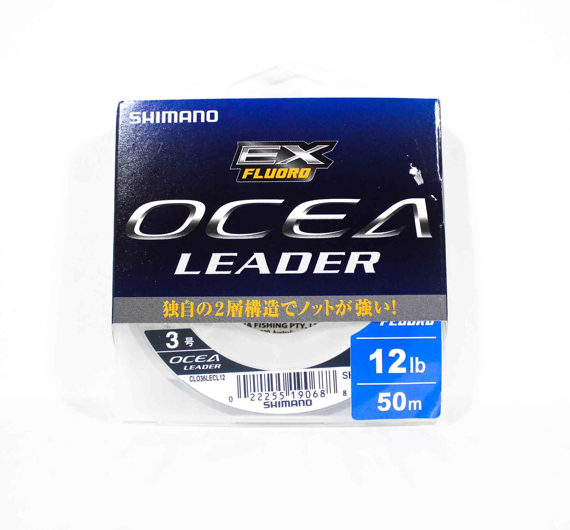 Shimano CL-036L Ocea EX Fluorocarbon Leader Line 50m 12lb (0688)