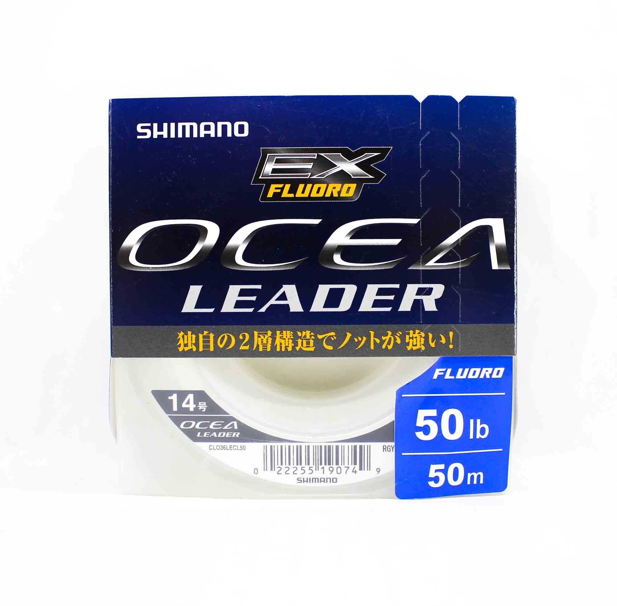 Shimano CL-036L Ocea EX Fluorocarbon Leader Line 50m 50lb (0749)