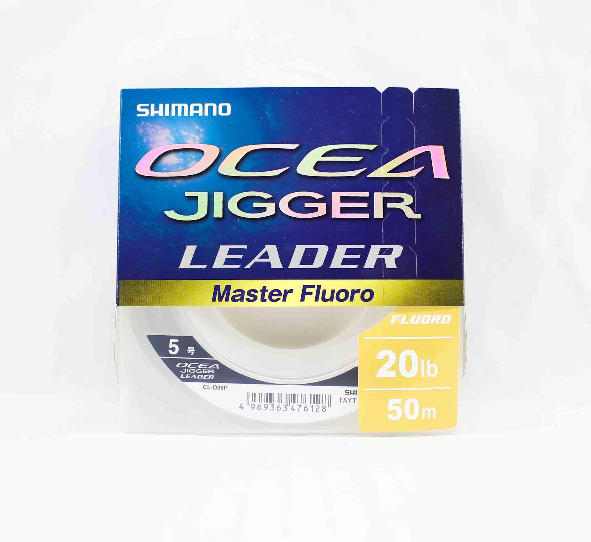 Shimano CL-036P Ocea Jigger Master Fluorocarbon Leader 50m 20lb 476128