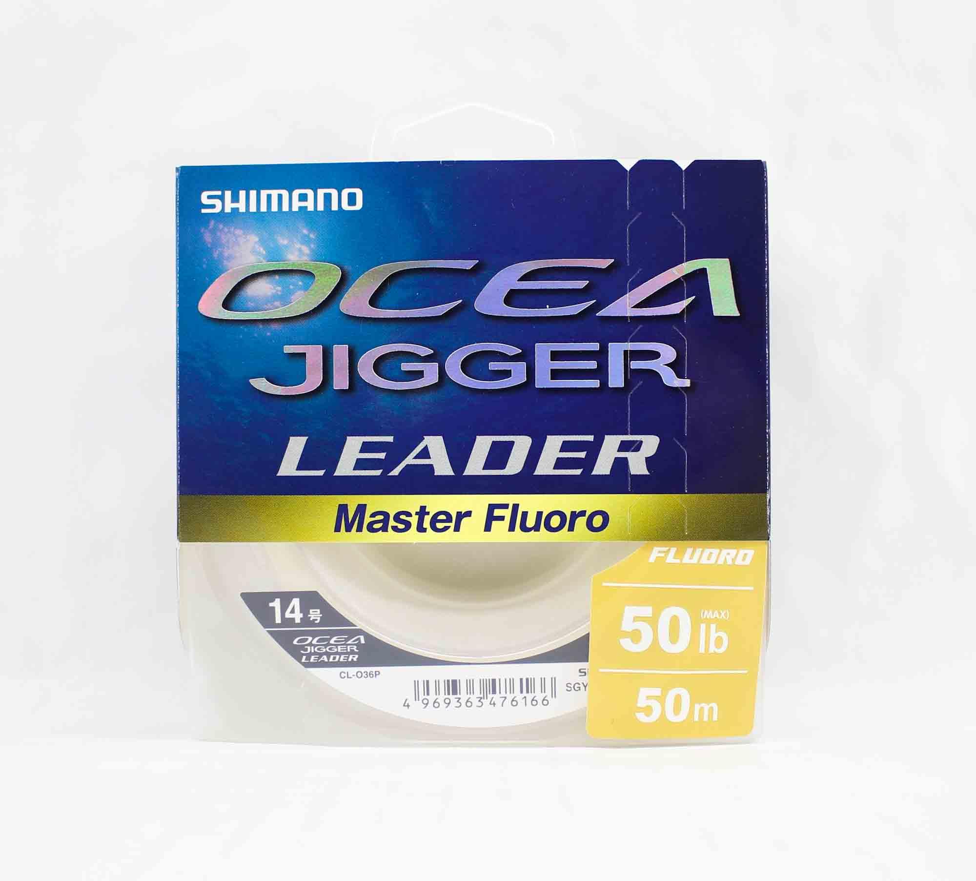 Shimano CL-036P Ocea Jigger Master Fluorocarbon Leader 50m 50lb 476166