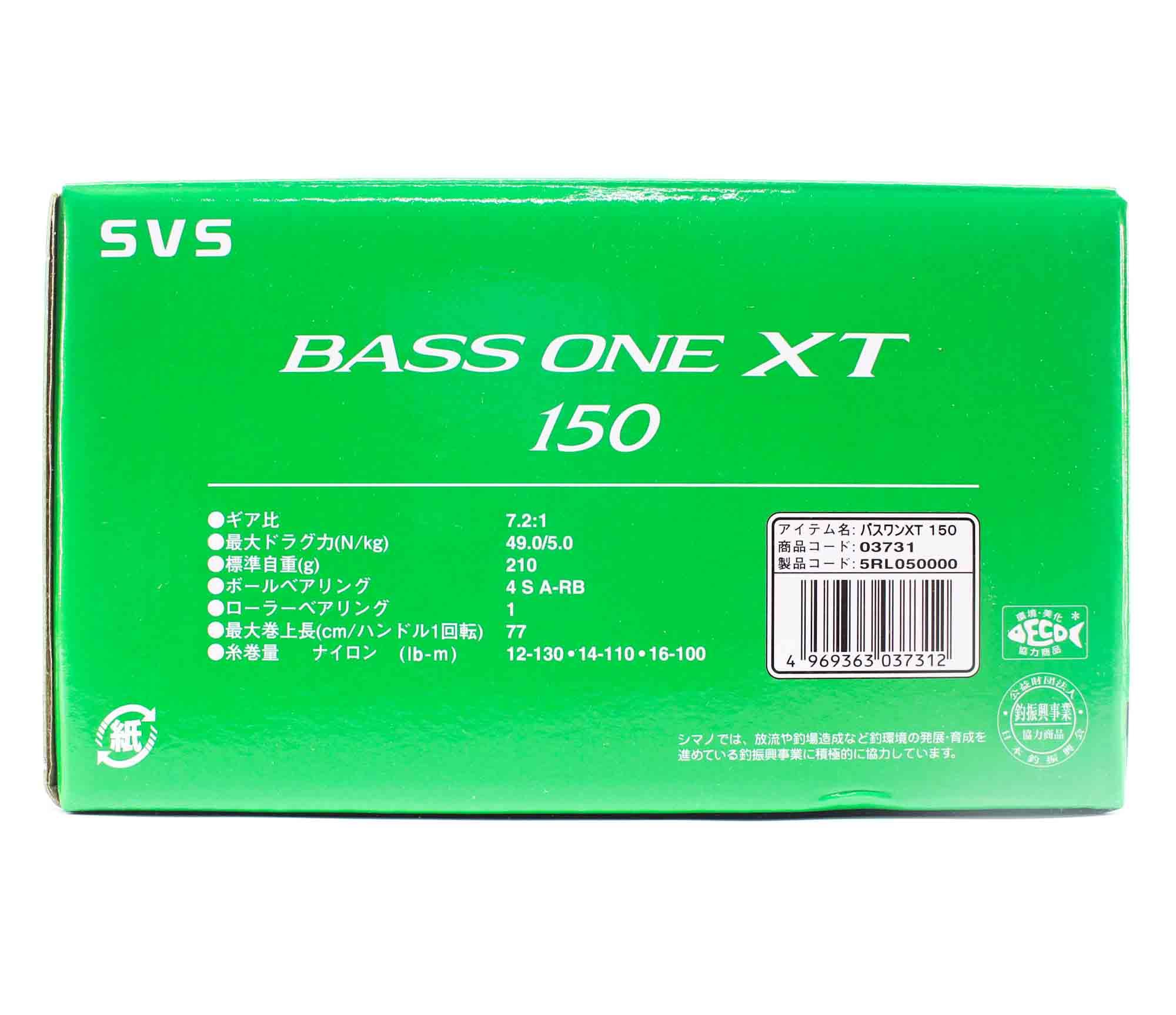 Shimano Reel Baitcast Bass One XT 150 Right Hand (7312)