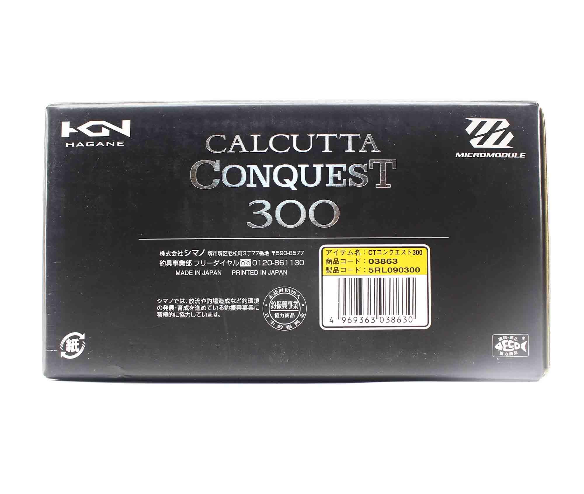 Shimano Reel Baitcast Calcutta Conquest 300 Right Hand (8630)