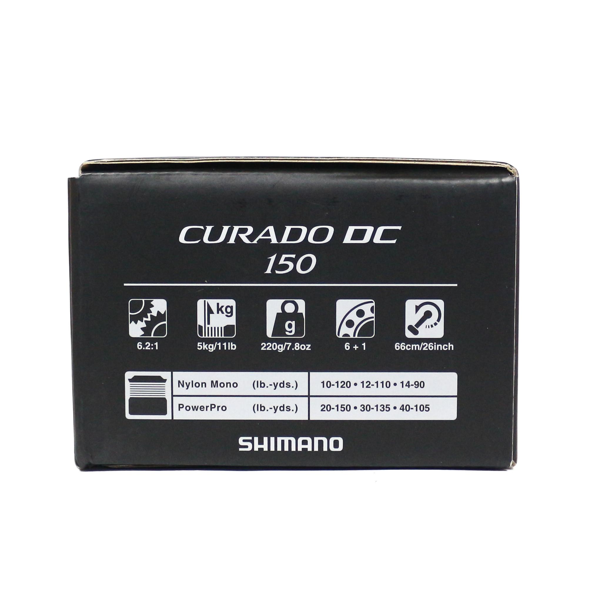 Shimano Reel Baitcast Curado DC 150 (8856)