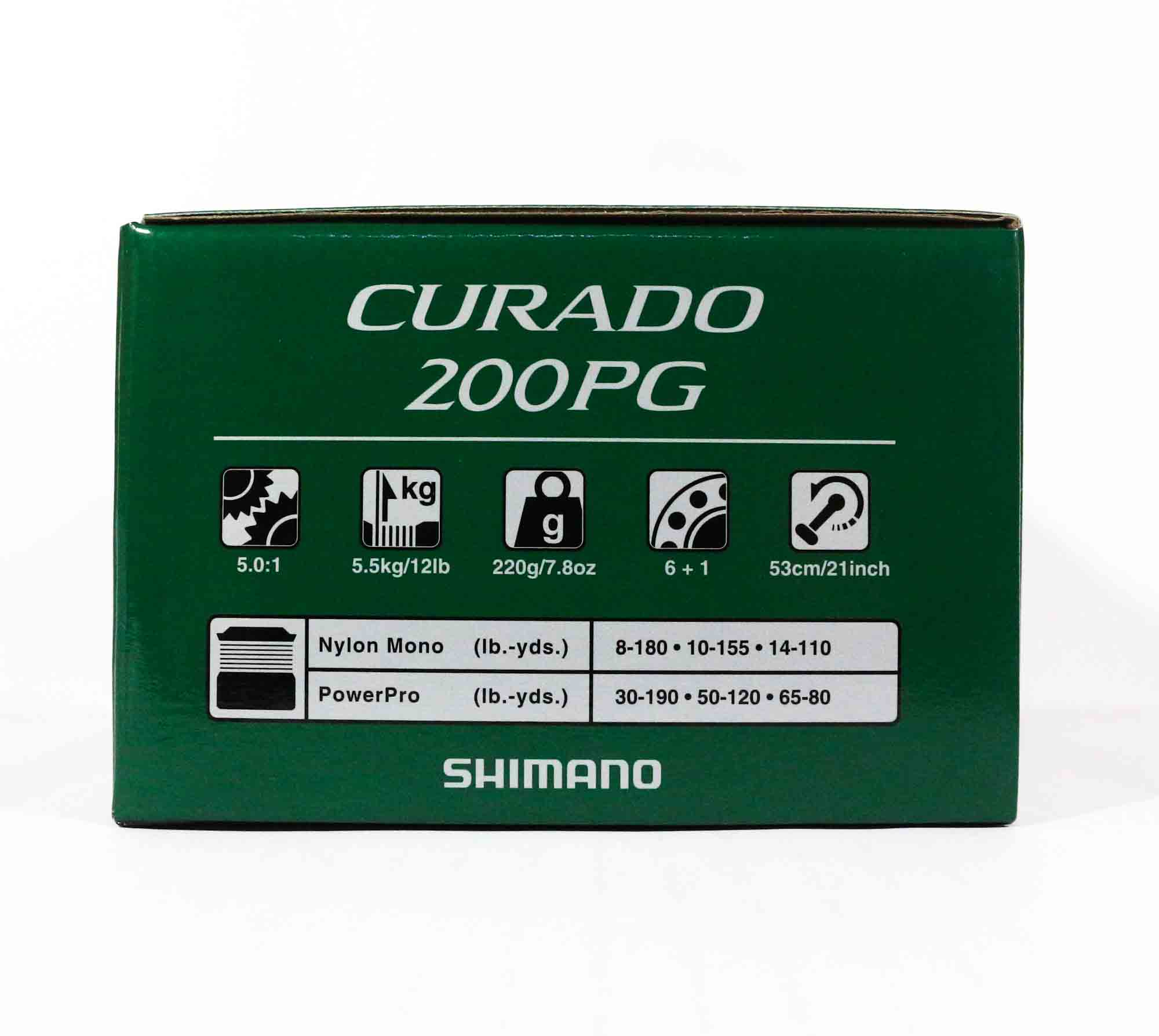 Shimano Reel Baitcast Curado 200 PG CU200PGK Right Hand (7177)