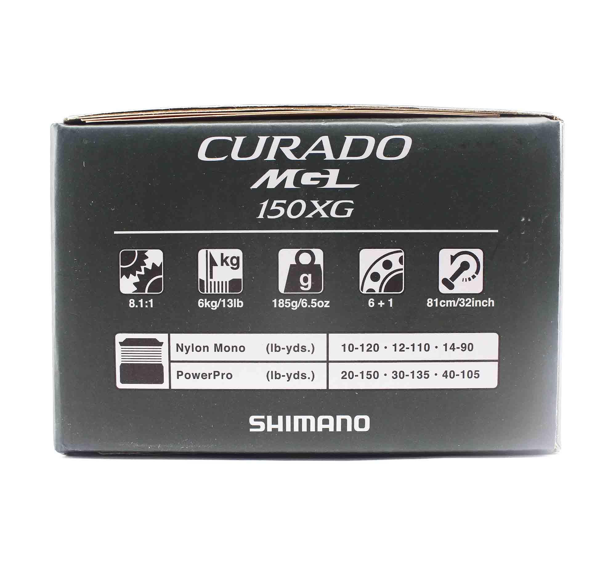 Shimano Reel Baitcast Curado MGL 150 XG CUMGL150XG Right Hand (5820)
