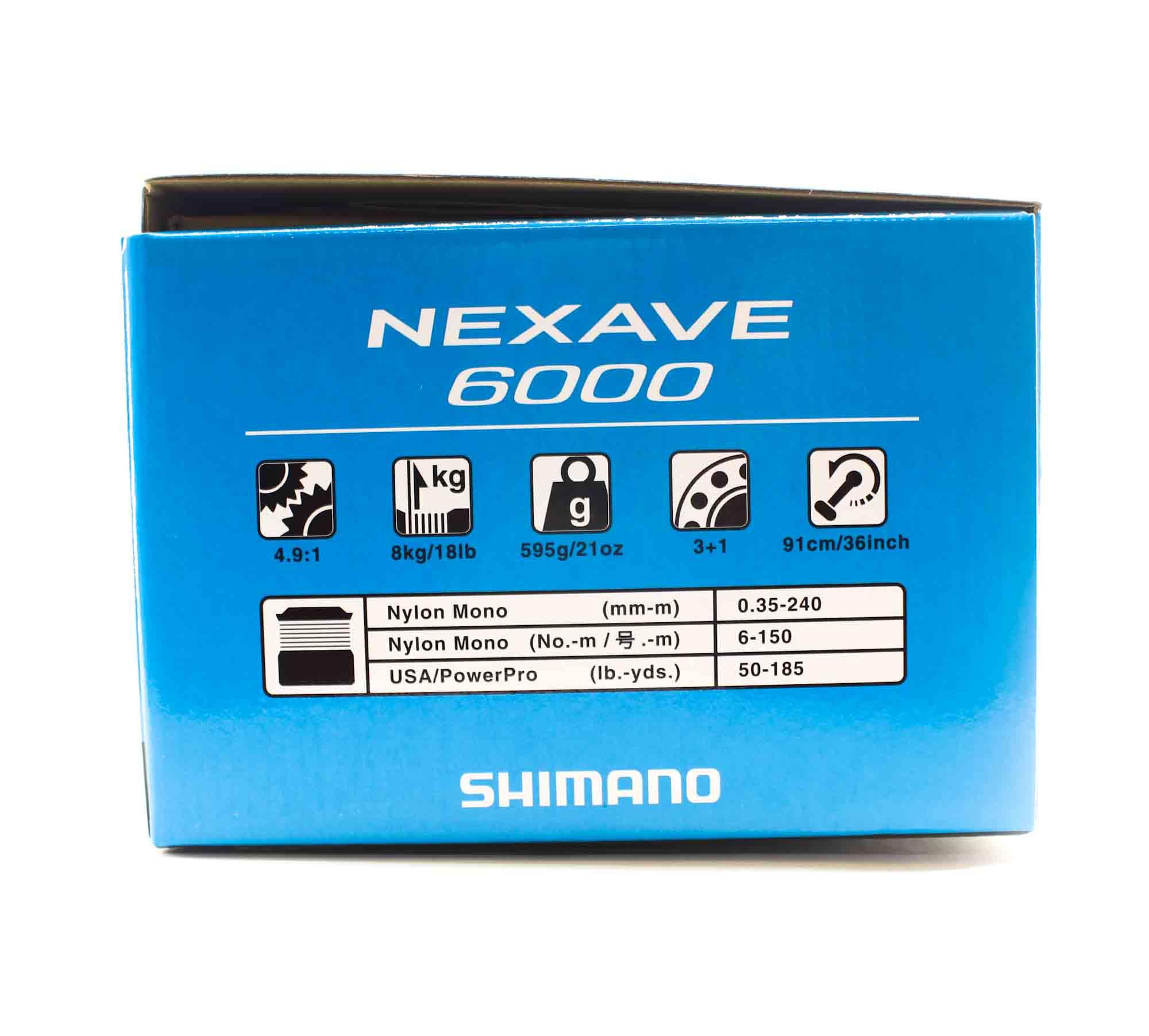 Shimano Reel Spinning Nexave NEX-6000FE 6000 (0712)