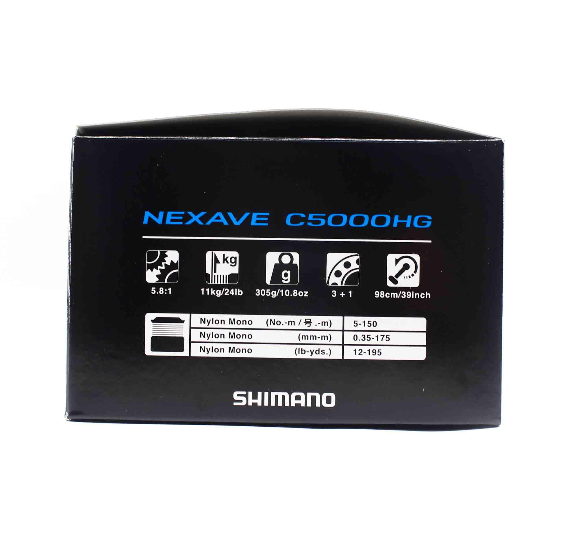 Shimano Reel Spinning Nexave NEXC5000HGFI C5000 HG (7183)