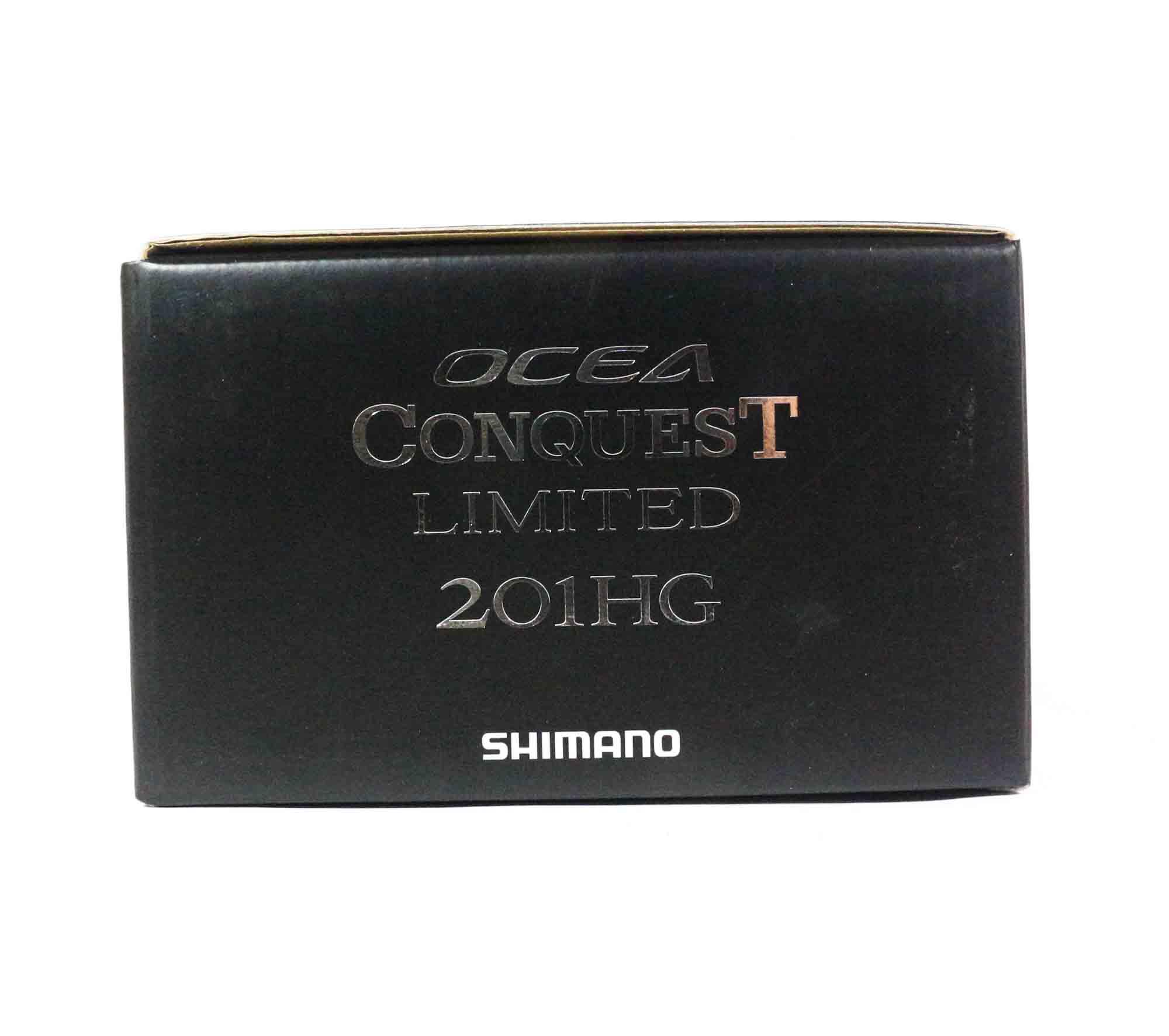 Shimano Reel Baitcast Ocea Conquest LTD 201 HG Left Hand (1845)
