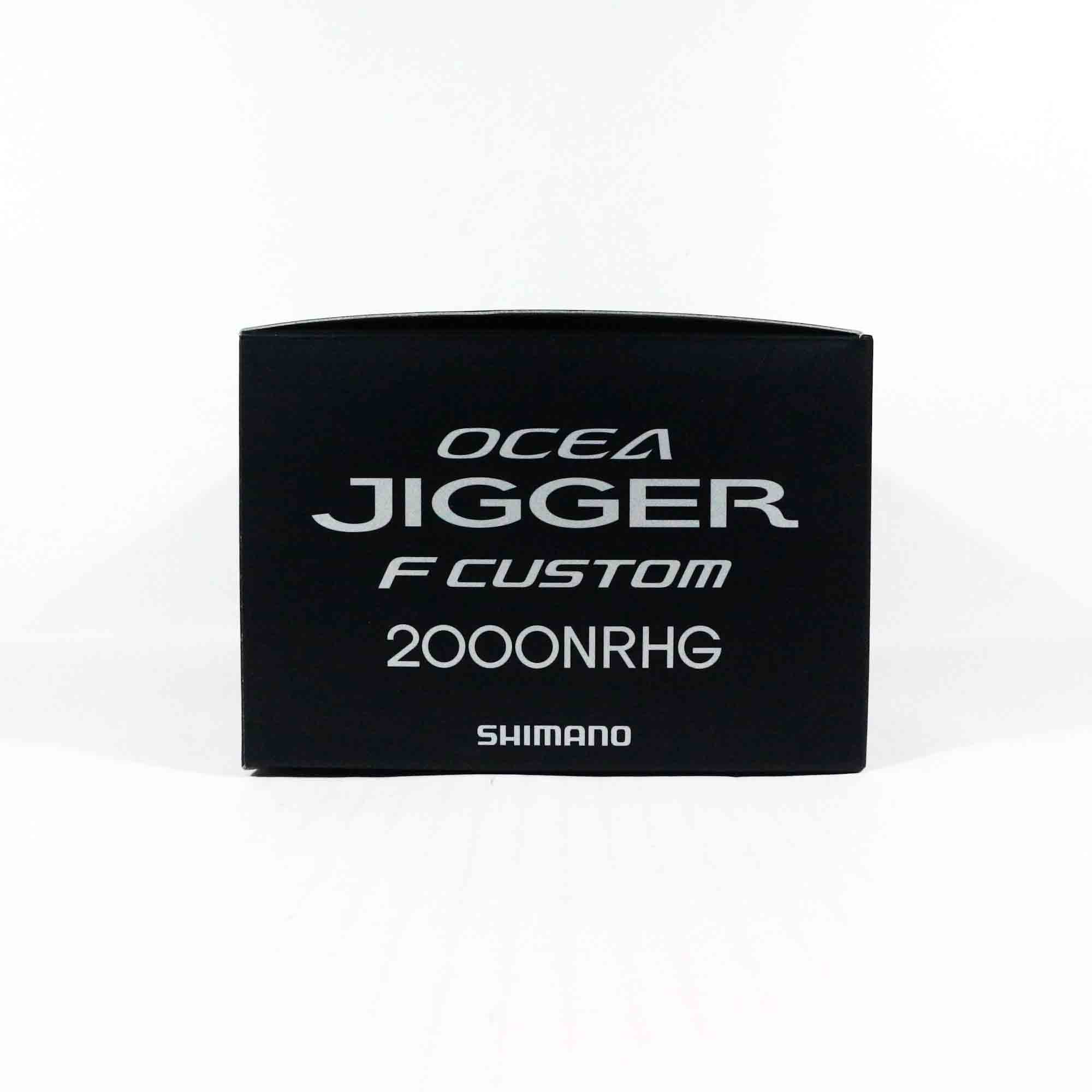 Shimano Reel Baitcast Ocea Jigger F Custom 2000 NRHG Right Hand (0046)