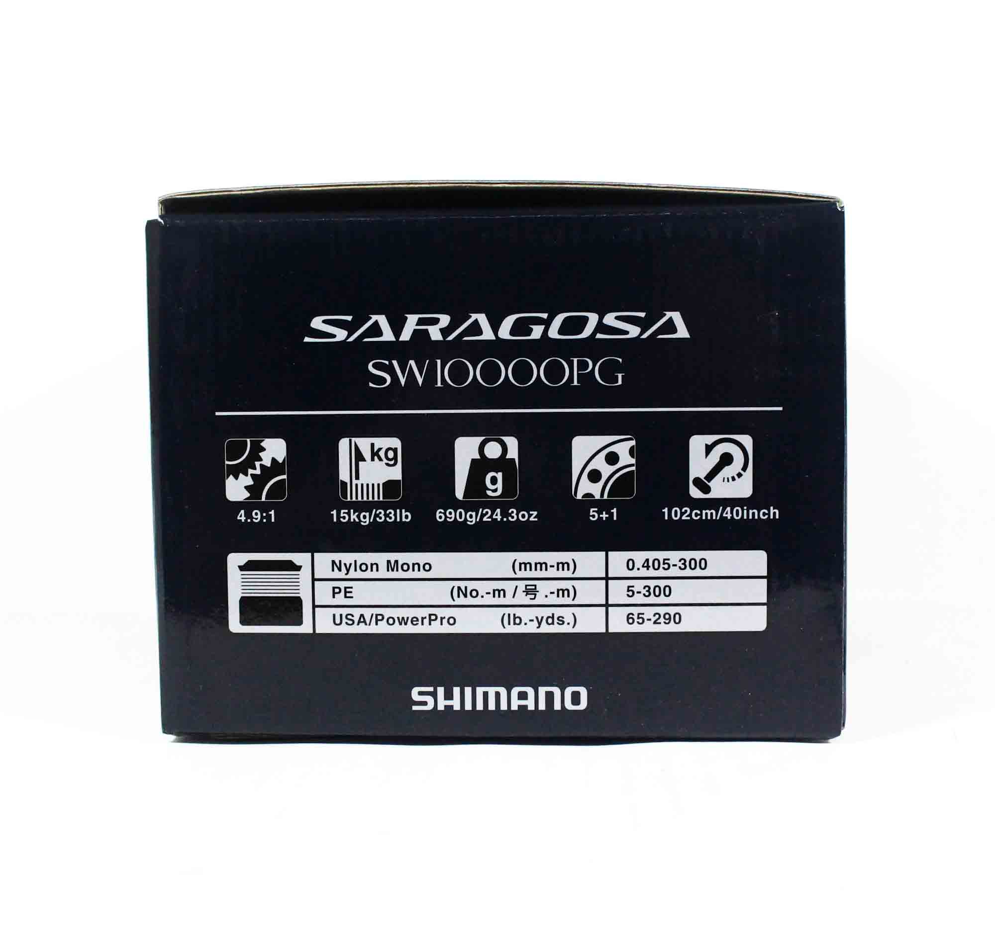 Shimano Reel Spinning Saragosa SRG10000SWAPG SW 10000 PG 2020 (0437)