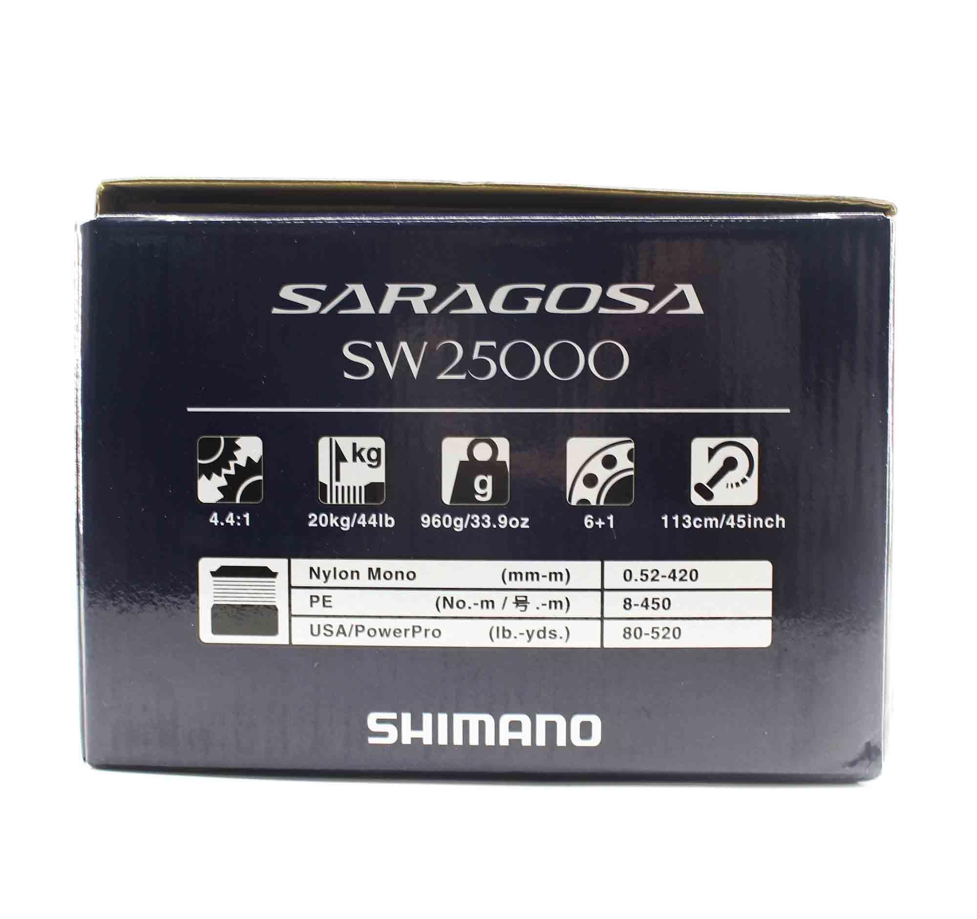 Shimano Reel Spinning Saragosa SRG25000SWA SW 25000 2020 (0475)