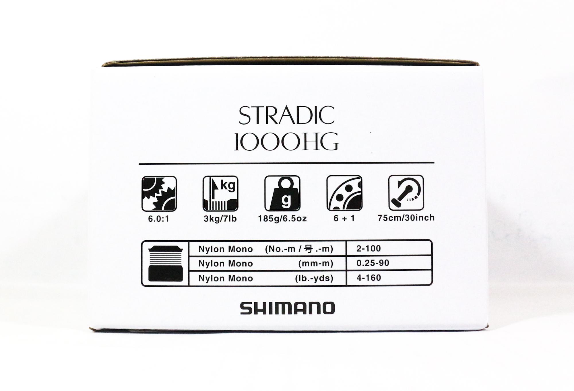 Shimano Reel Spinning Stradic 1000 HG ST-1000HGFL (5816)