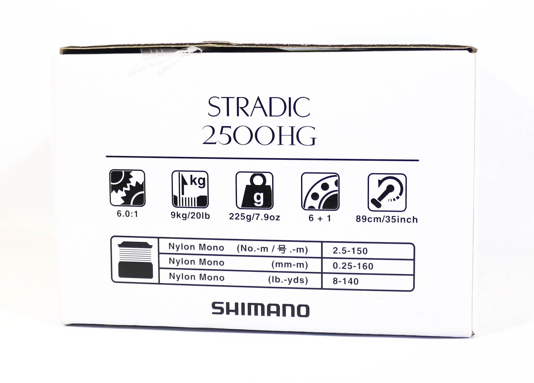 Shimano Reel Spinning Stradic 2500HG ST-2500HGFL (0759)
