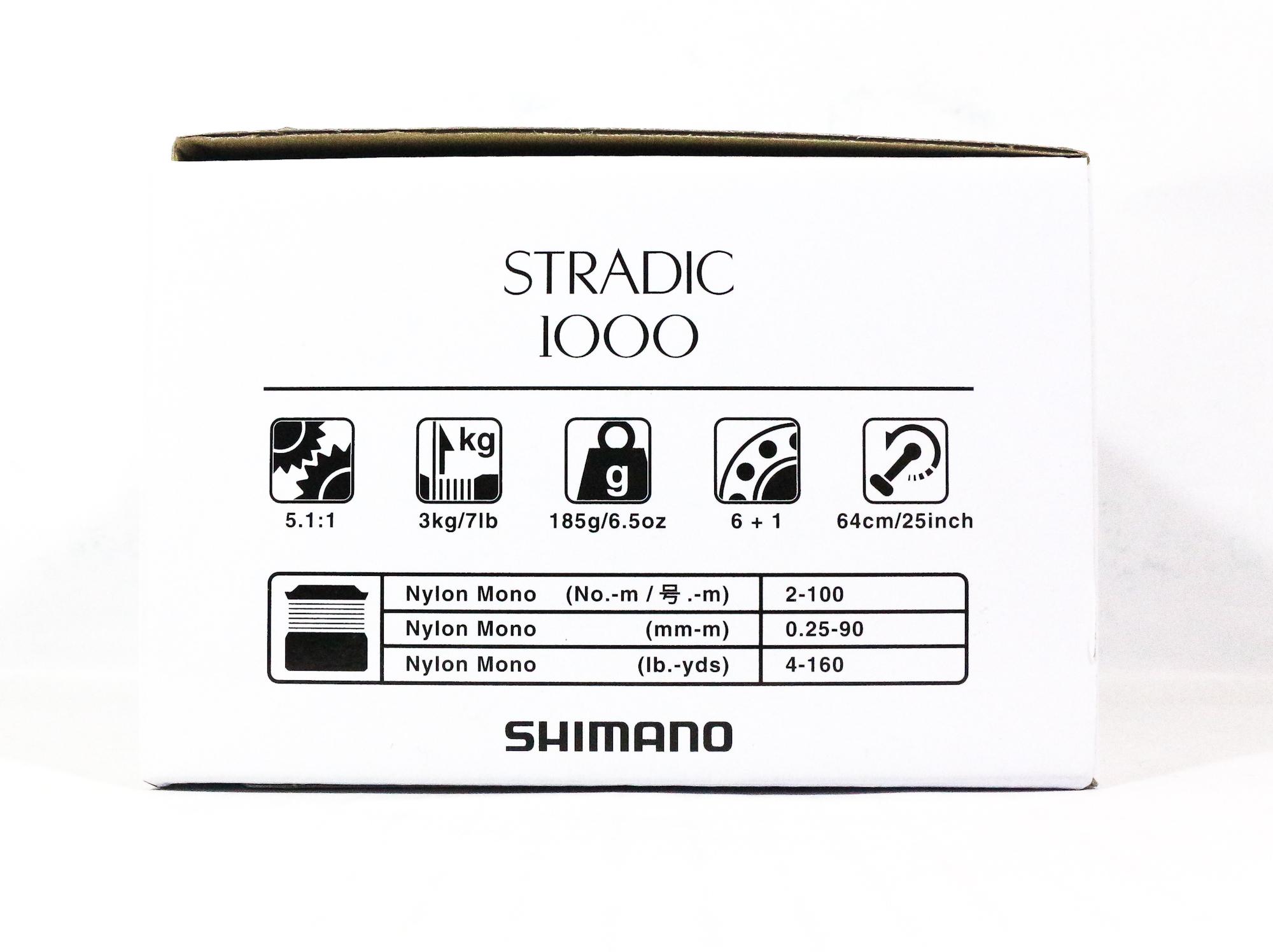 Shimano Reel Spinning Stradic 1000 ST-1000FL (5809)