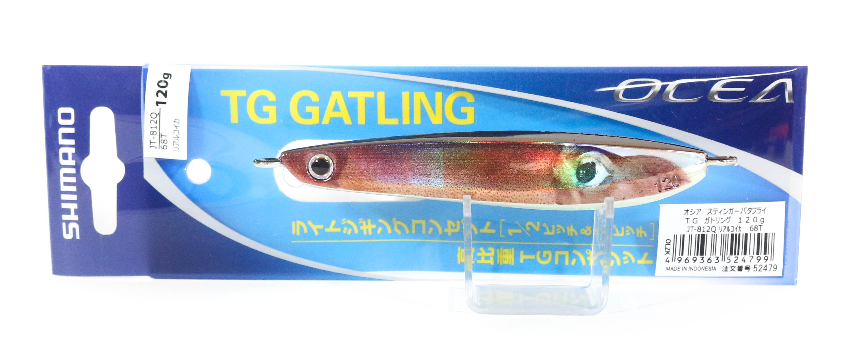 Shimano JT-812Q Metal Jig TG Gatling 120 grams 68T 524799