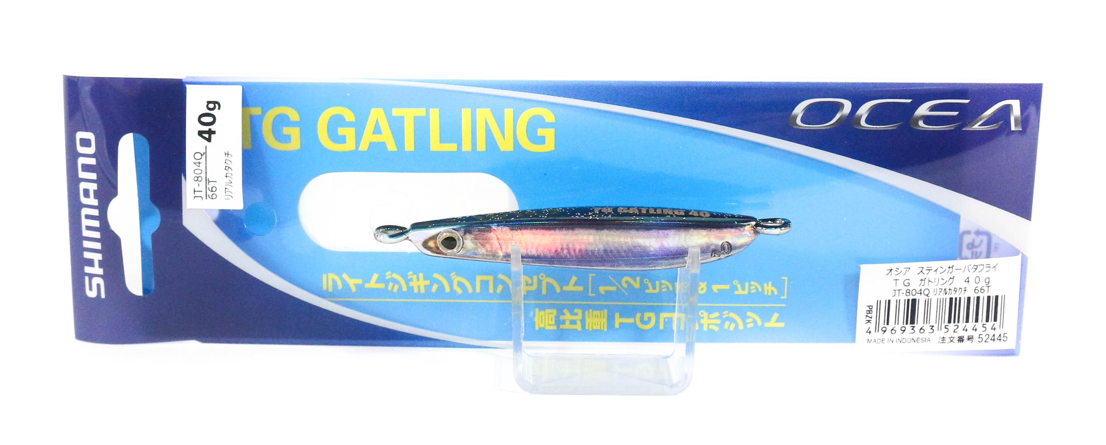 Shimano JT-804Q Metal Jig TG Gatling 40 grams 66T 524454