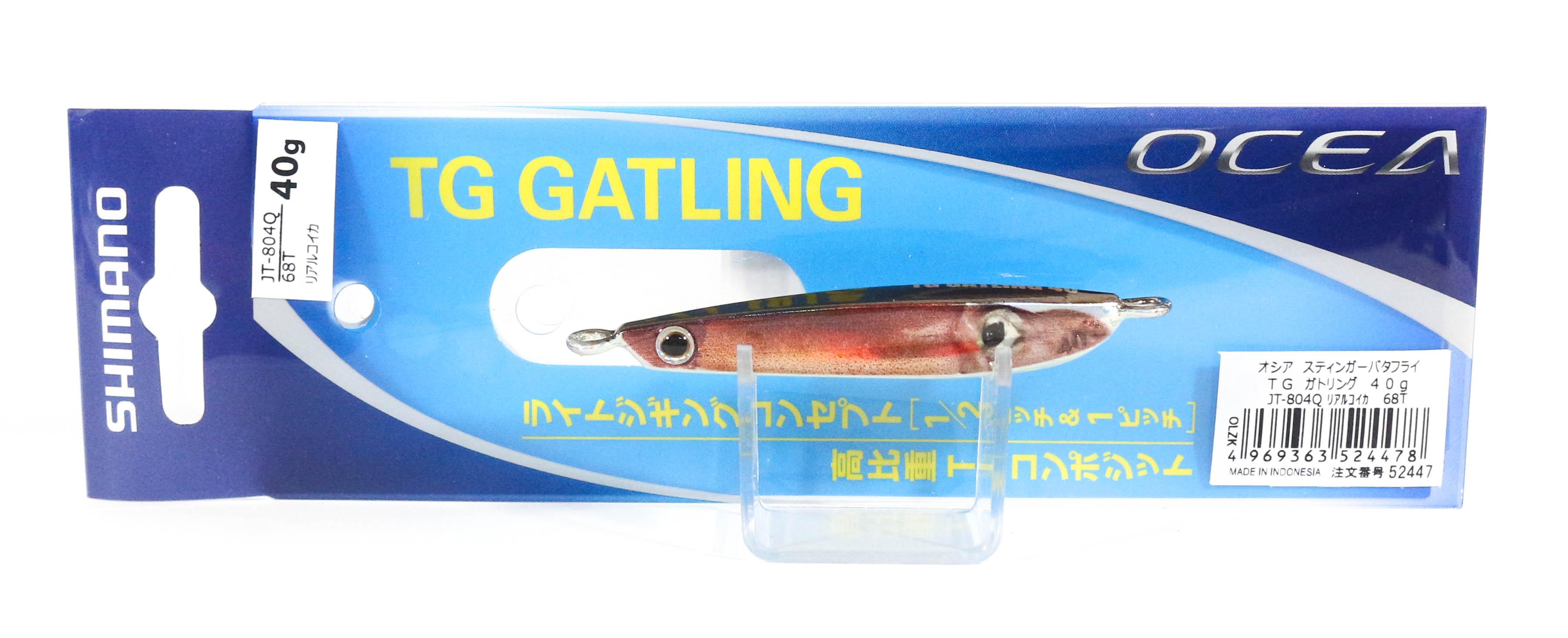Shimano JT-804Q Metal Jig TG Gatling 40 grams 68T 524478