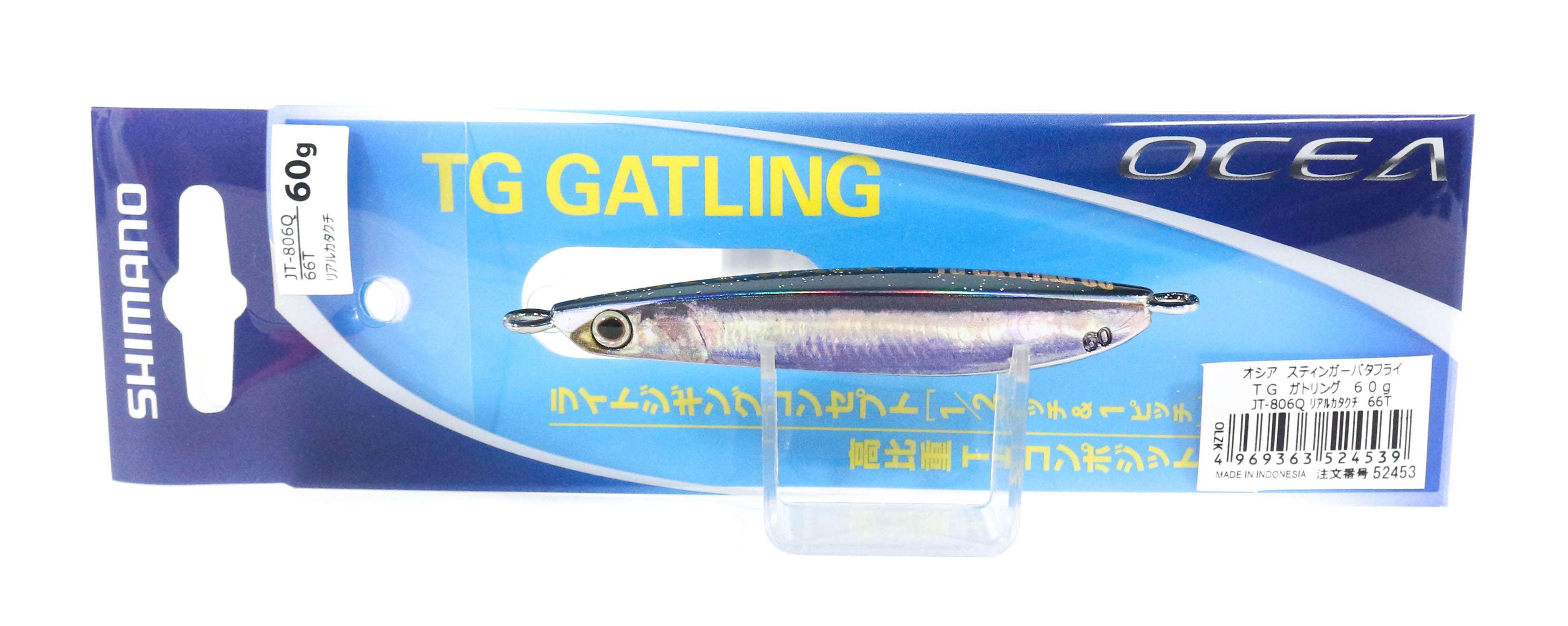 Shimano JT-806Q Metal Jig TG Gatling 60 grams 66T 524539
