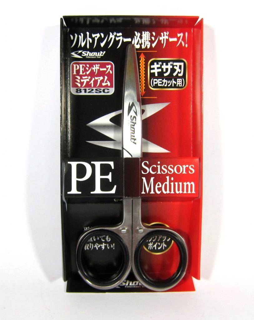 Shout 812-SC Scissors for P.E Line 13 cm Medium (0453)
