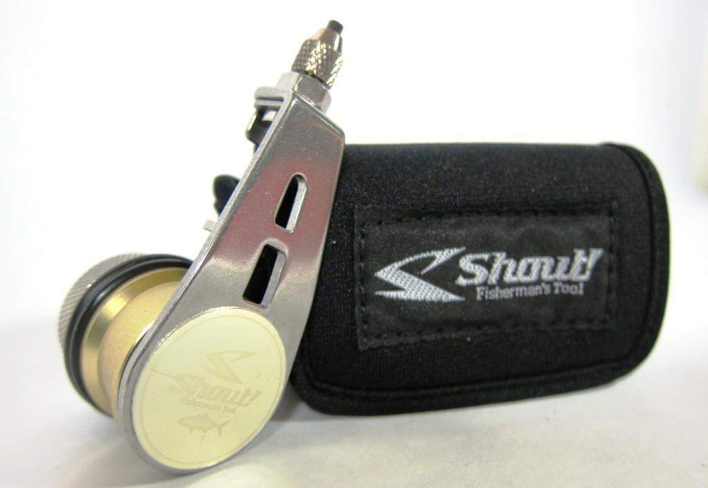 Shout 313-BK Bobbin Knotter Knot Machine Version 3 Dual Weight P.E 1-6 (3935)