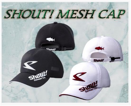 Shout 54-MC Cap Mesh Black Free Size Adjustable (4738)