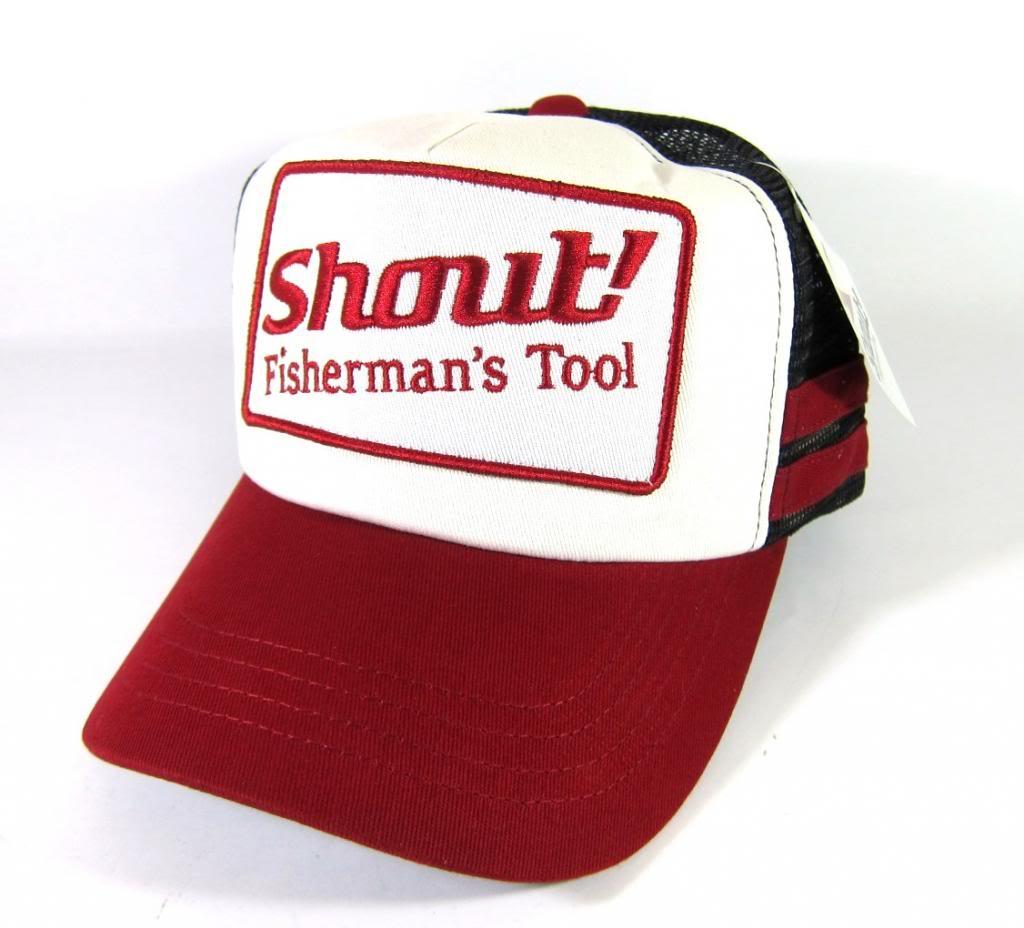 Shout 710-WC Cap Emblem Red Free Size Adjustable (1626)