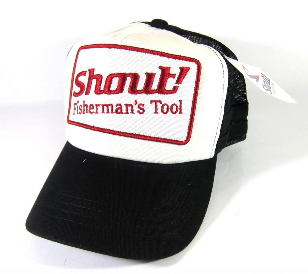 Shout 710-WC Cap Emblem Black Free Size Adjustable (1633)