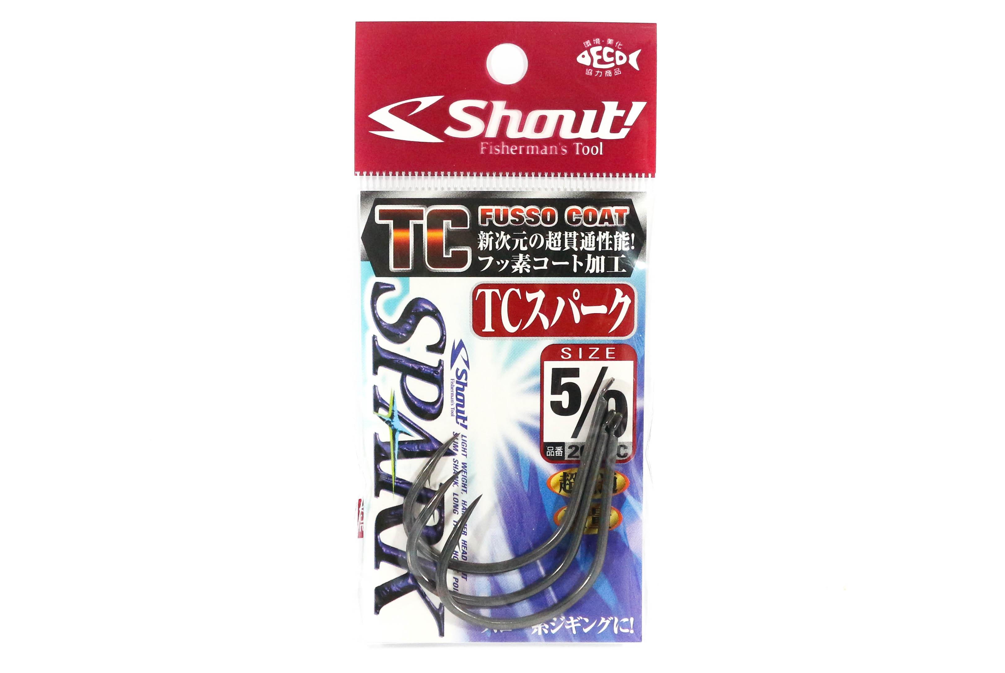 Shout 209-TC TC Spark Jigging Single Hook Size 5/0 (1960)