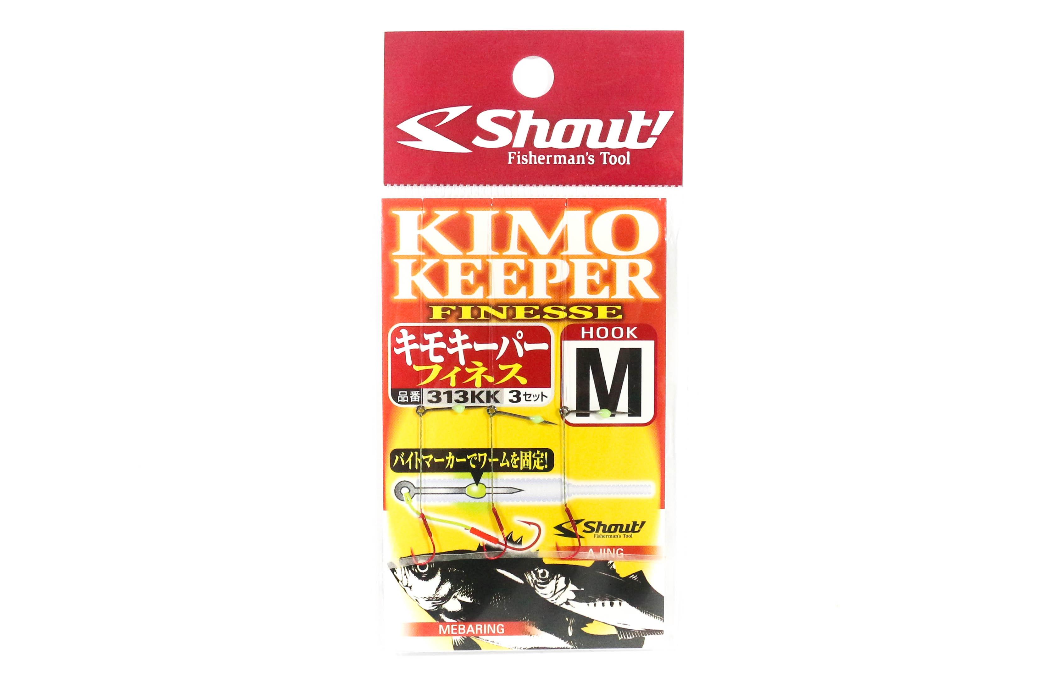 Sale Shout 313-KK Kimo Keeper Ultralight Yamame Worm Hook 2cm Size M (3462)