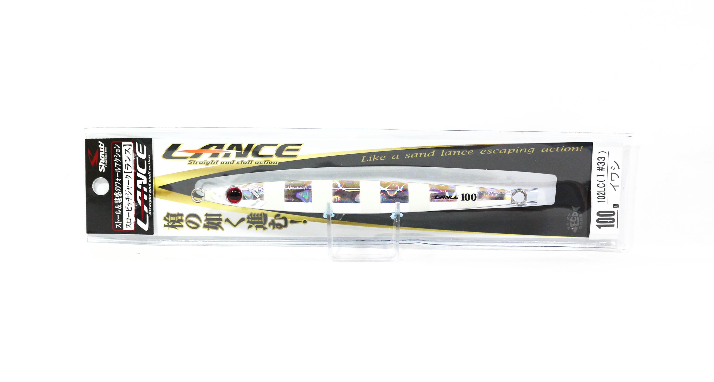 Shout 102-LC Metal Jig Lance Slow Fall Long 100 grams ZG (7901)