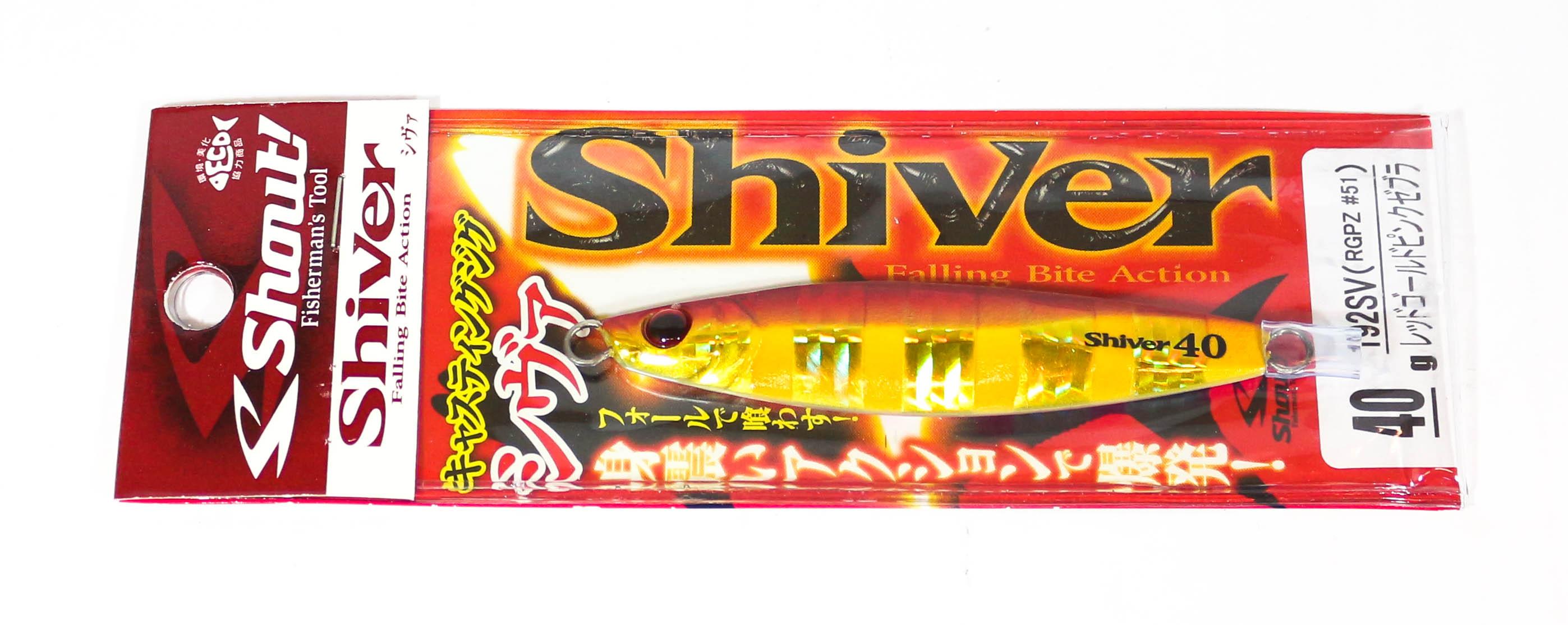 2679 Shout 193-SV Metall Jig Shiver 60 Gramm SH