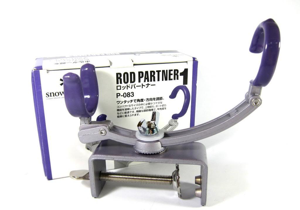 Snowpeak P-083 Rod Partner 1 Portable Rod Holder Setup (0831)