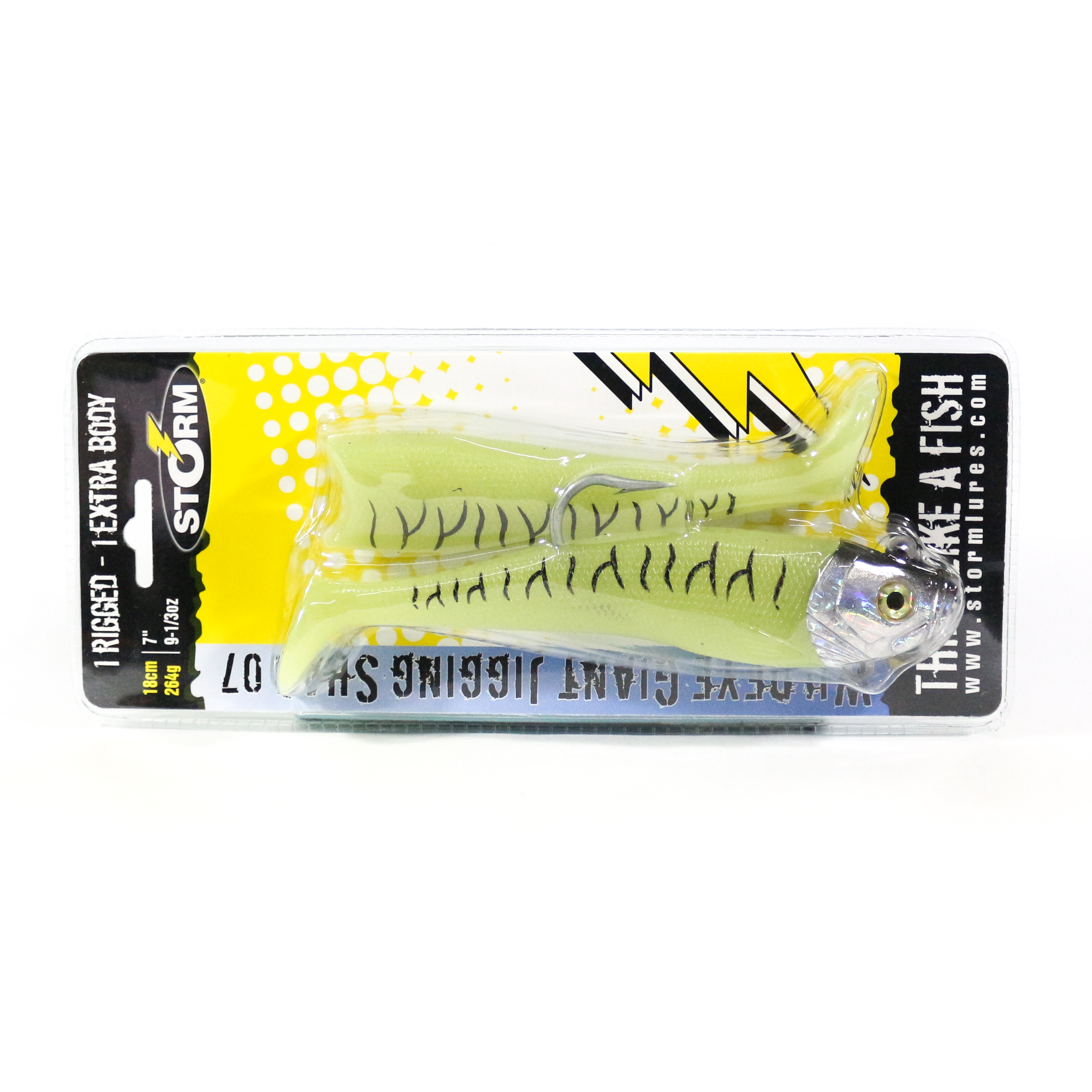 Storm Giant Jigging Shad Sinking Lure WGJSD07/GT (4117)
