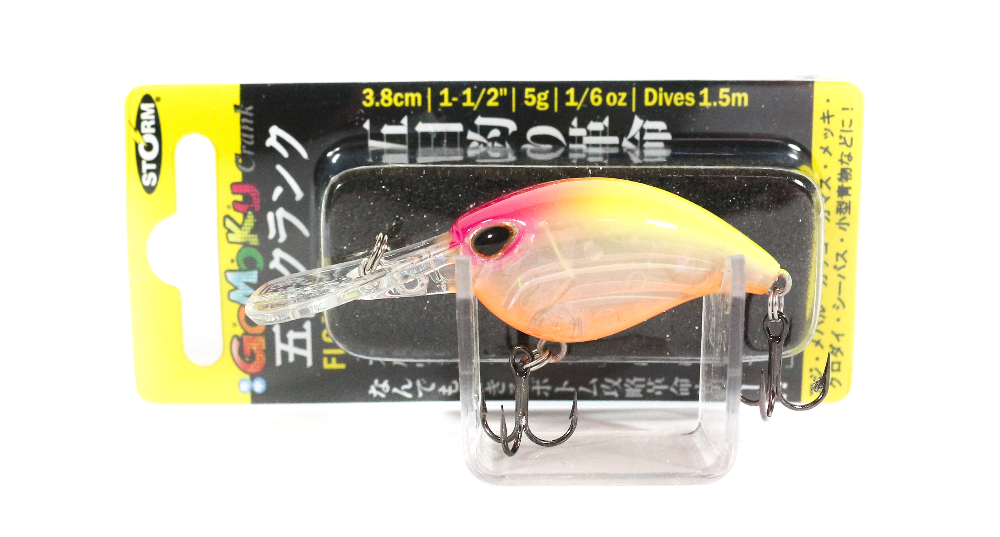 Storm Gomoku Crank Floating Lure GC38F-CLPHC (6274)