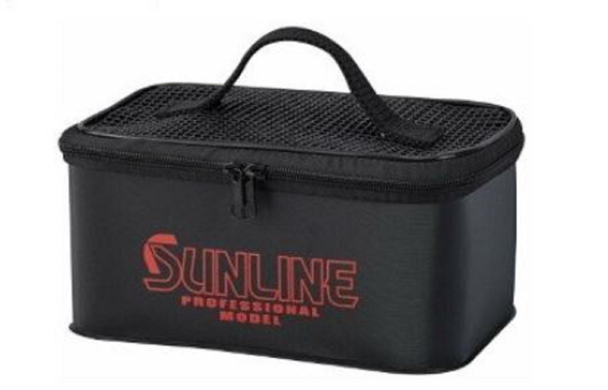 Sunline SFB-107 Mesh Zip Box Drainable 220 x 155 x 105mm Black Size S (3928)