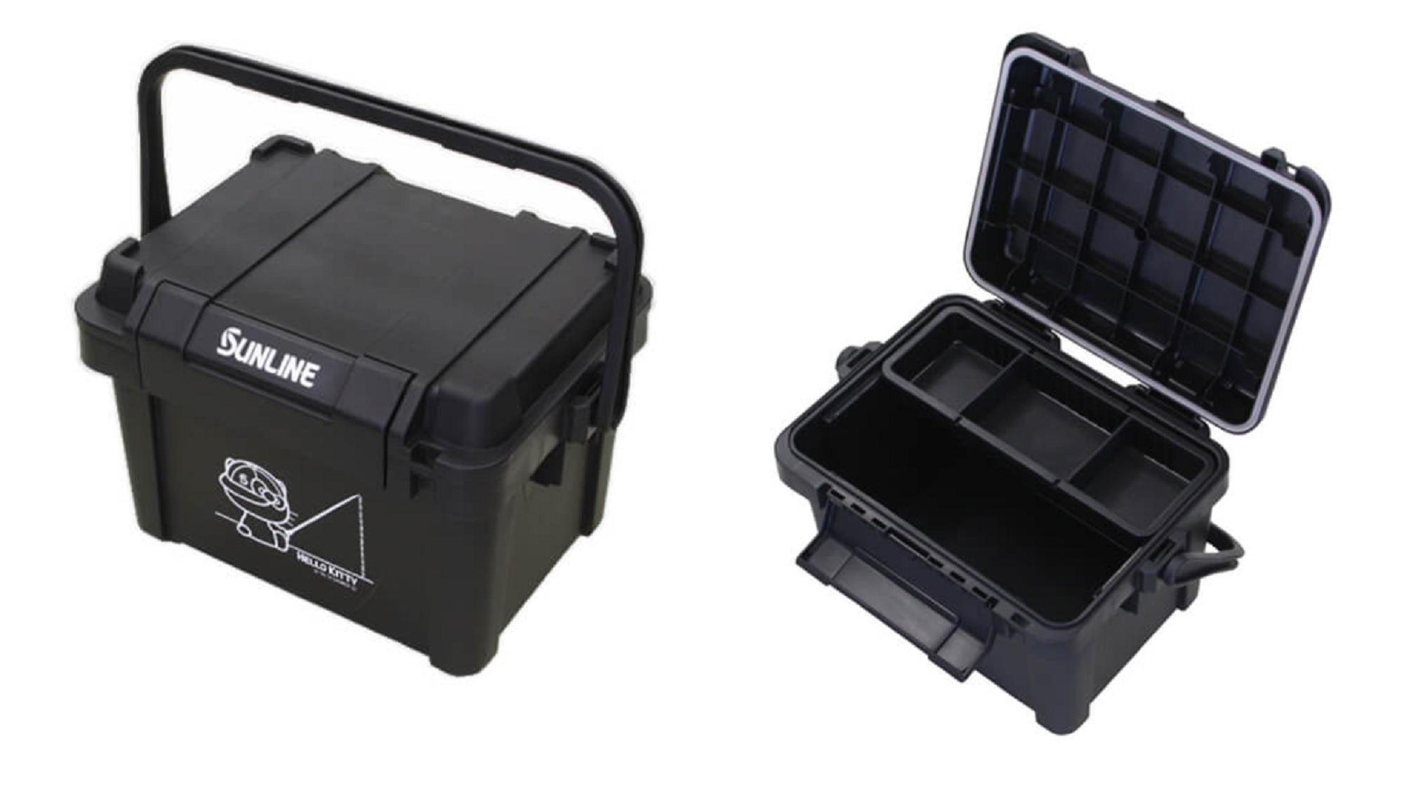 Sunline 21SK-04 Storage Box Hello Kitty 518 x 360 x 345mm Black (4733)