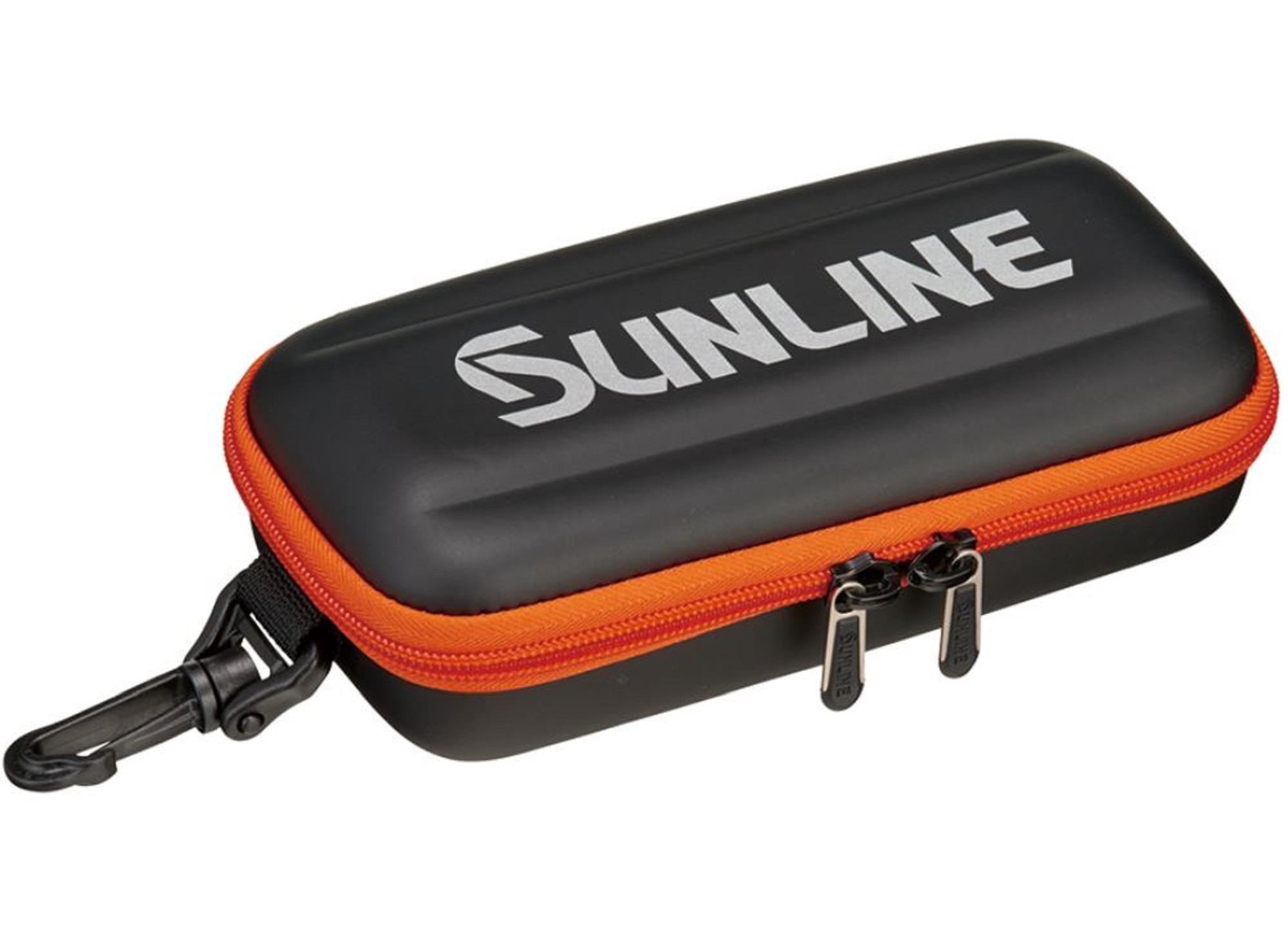 Sunline SFP-0126 Jig Storage Case 100 x 200 x 70 mm Orange (4962)
