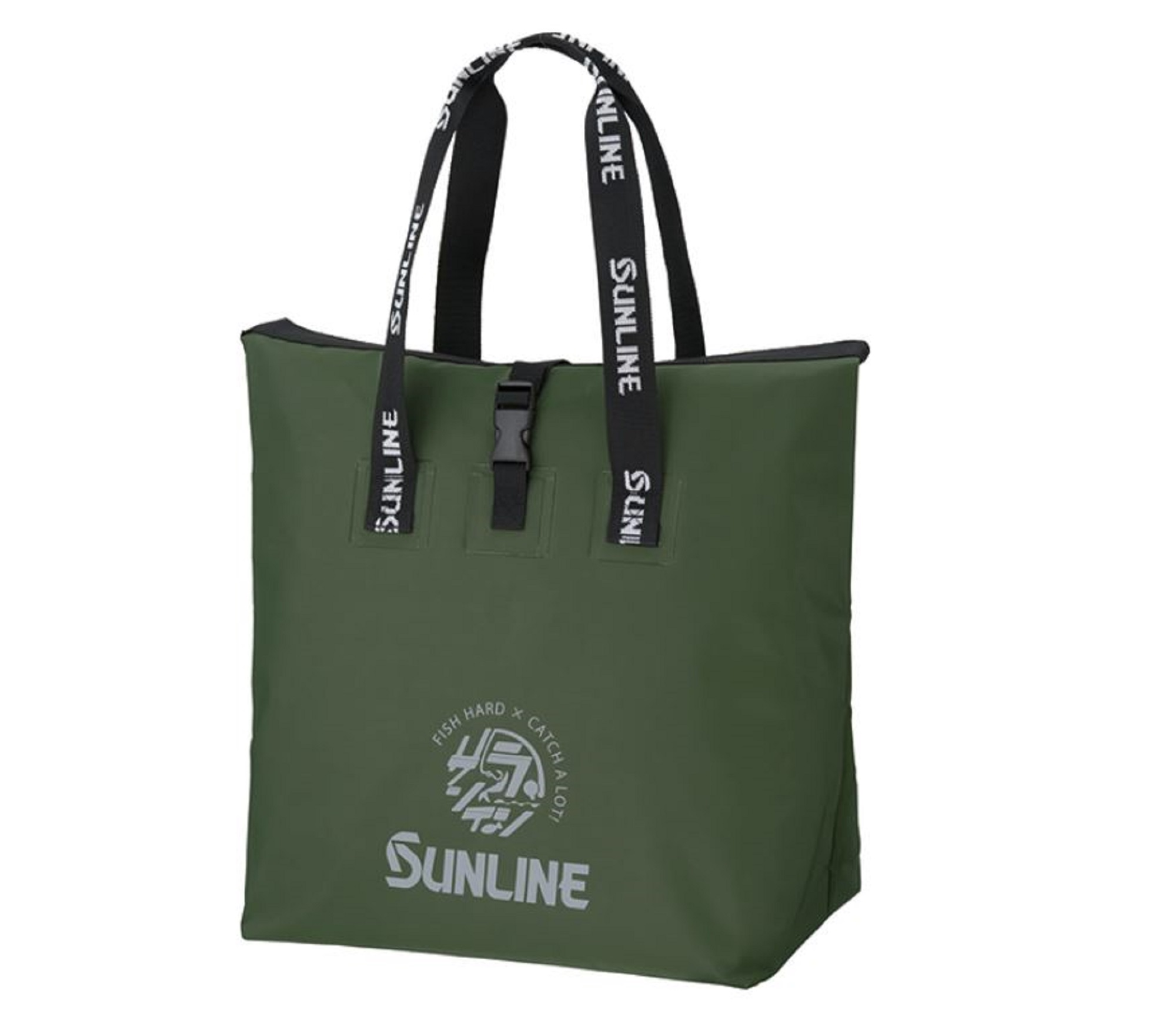 Sunline SFB-0721 Water Proof Tote Bag 480 x 500 x 250 mm Green (5013)