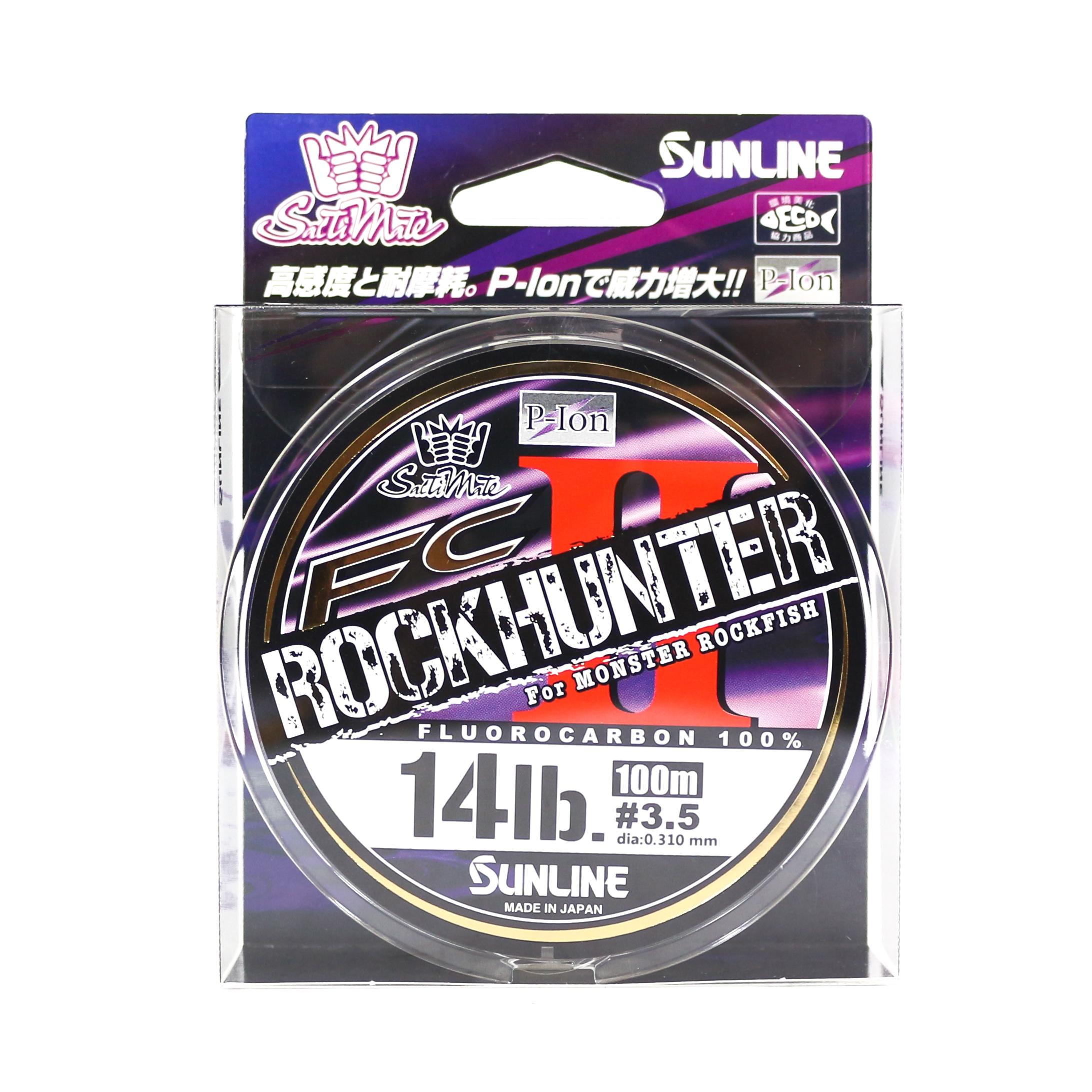 Sunline Fluorocarbon Line Rock Hunter II 100m 14lb , 0.31mm (9109)