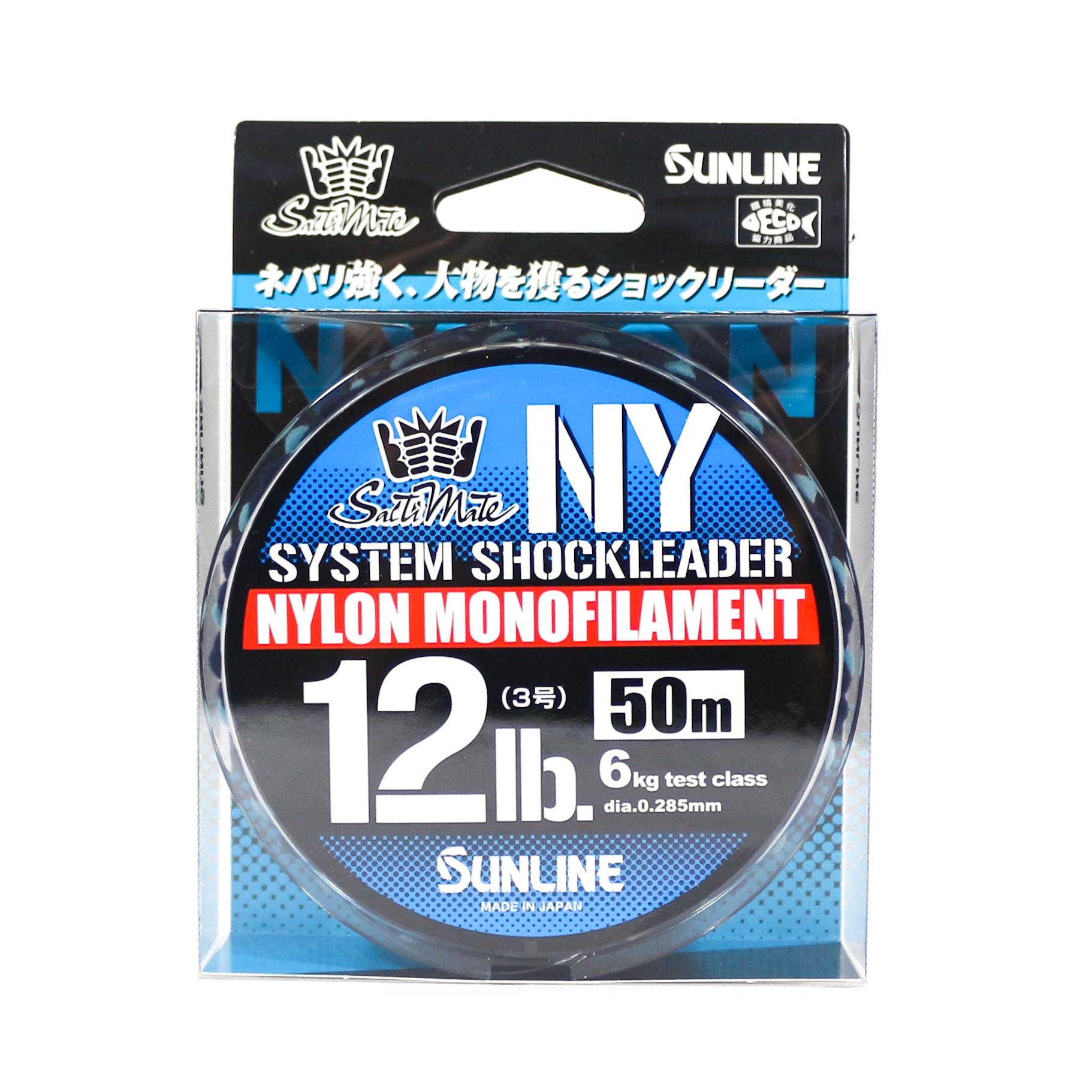 Sunline NY System Shock Leader Nylon 50m 12lb (9260)