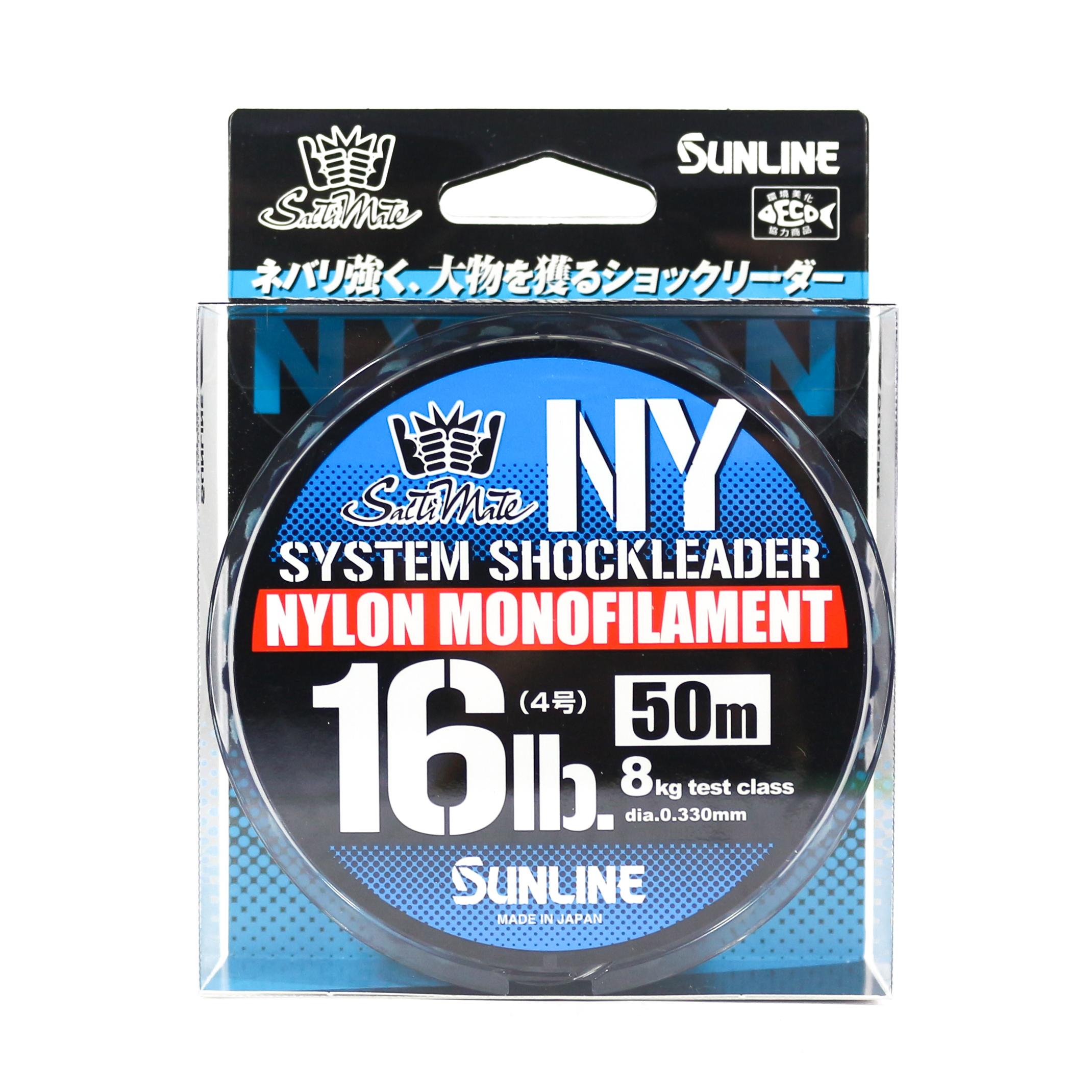 Sunline NY System Shock Leader Nylon 50m 16lb (9277)