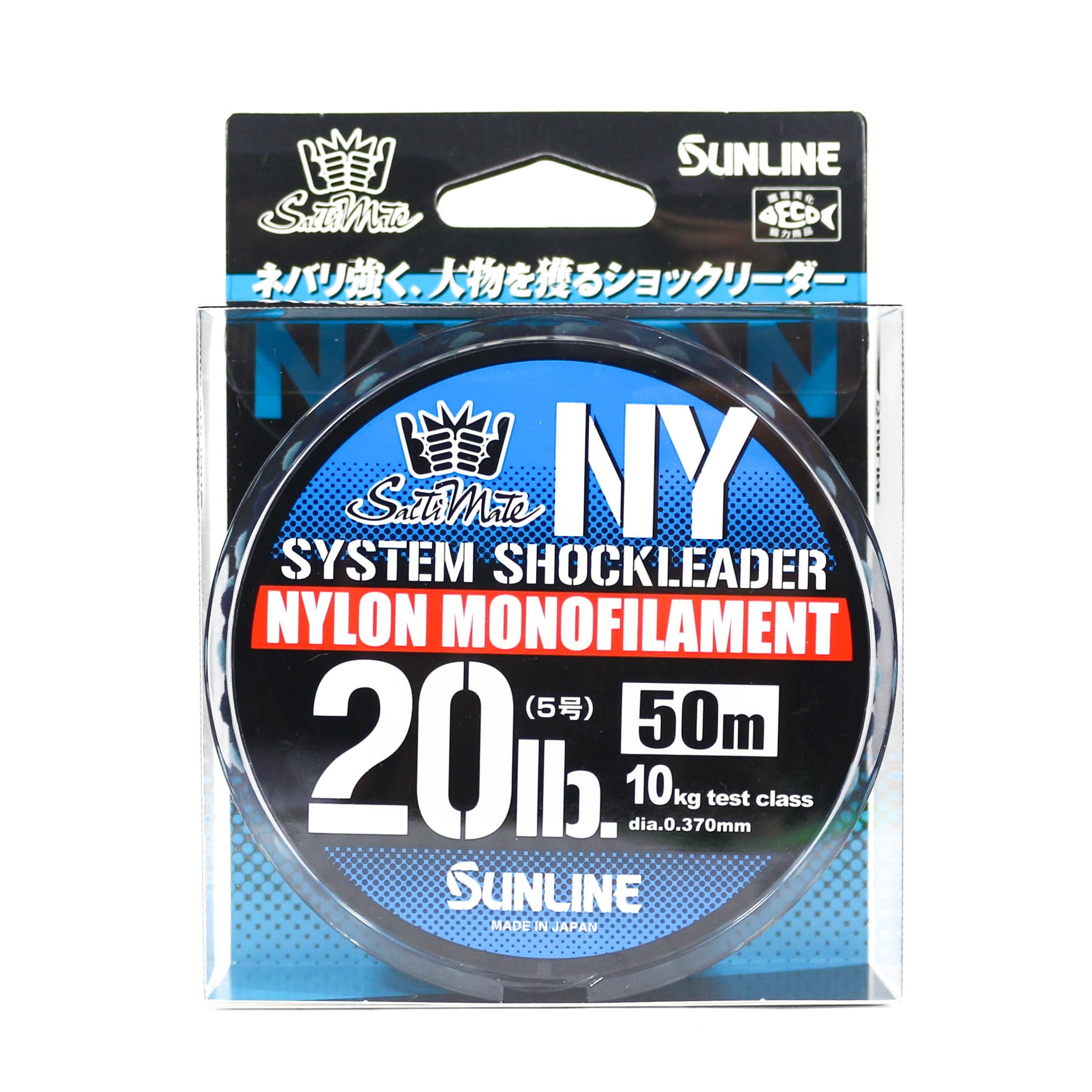 Sunline NY System Shock Leader Nylon 50m 20lb (9284)