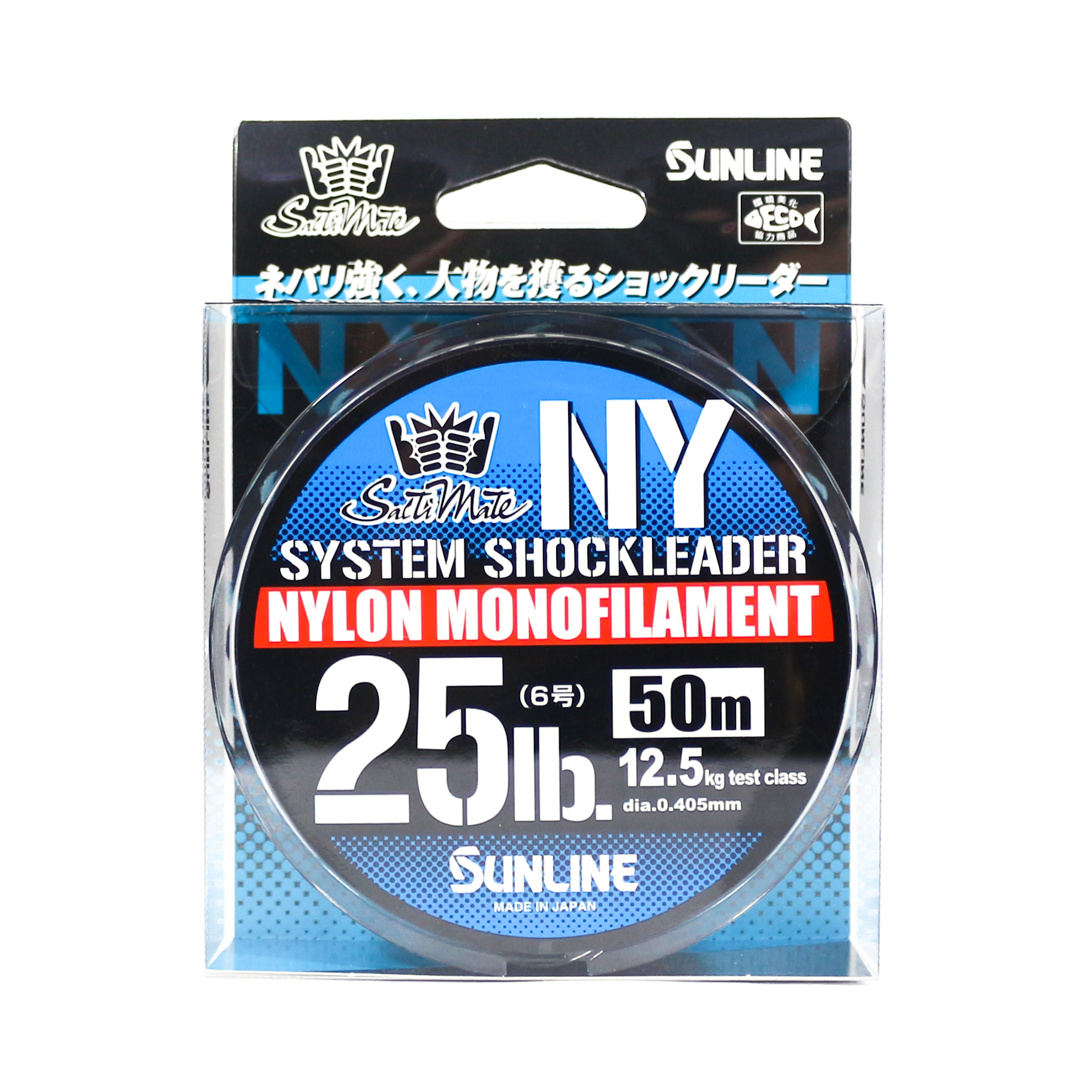 Sunline NY System Shock Leader Nylon 50m 25lb (9291)
