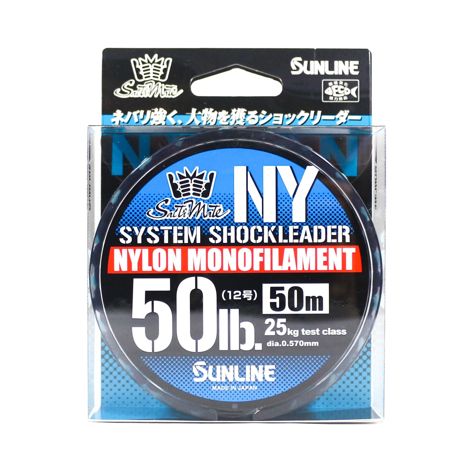 Sunline NY System Shock Leader Nylon 50m 50lb (9338)