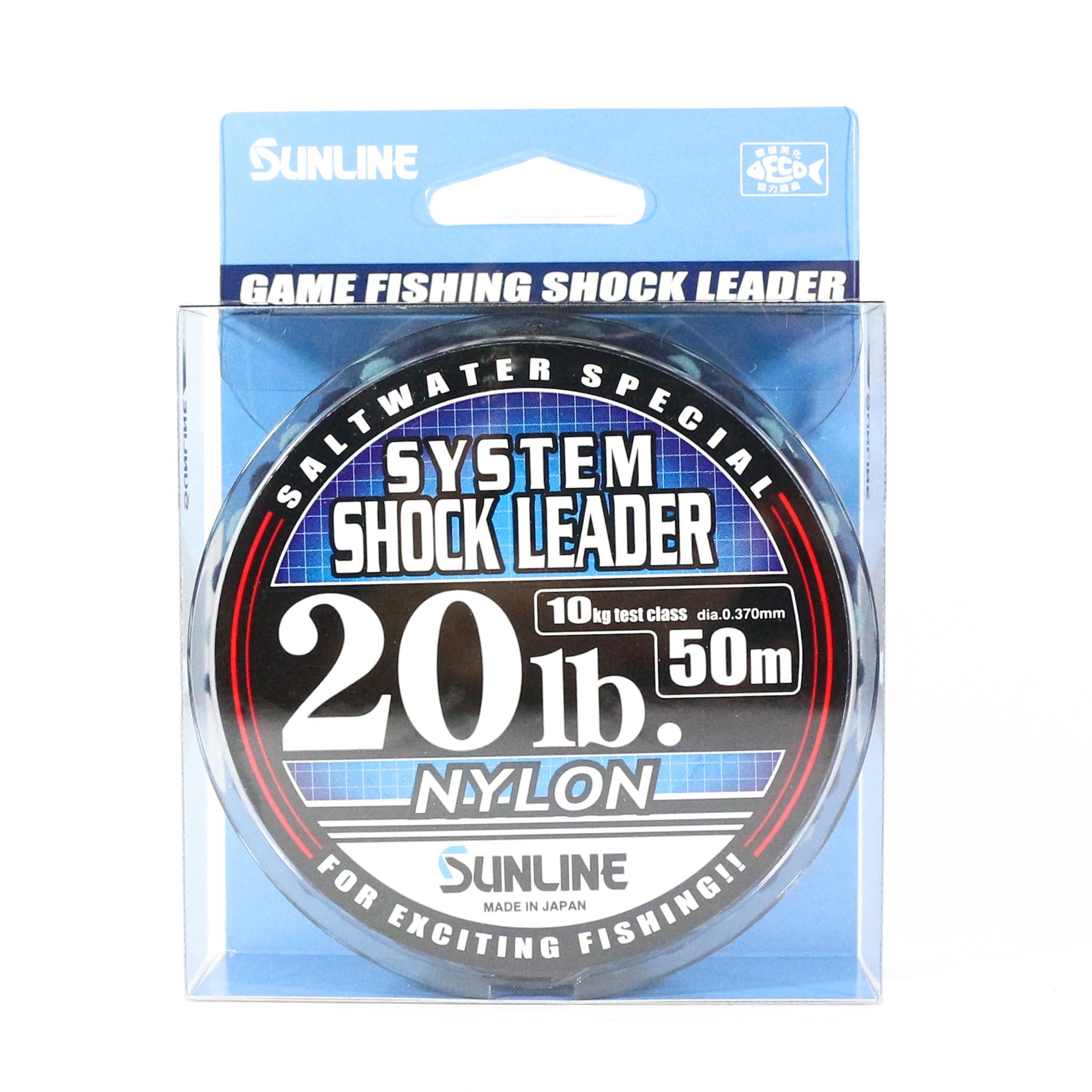 Sale Sunline Special System Shock Leader Nylon 50m 20lb (9316)