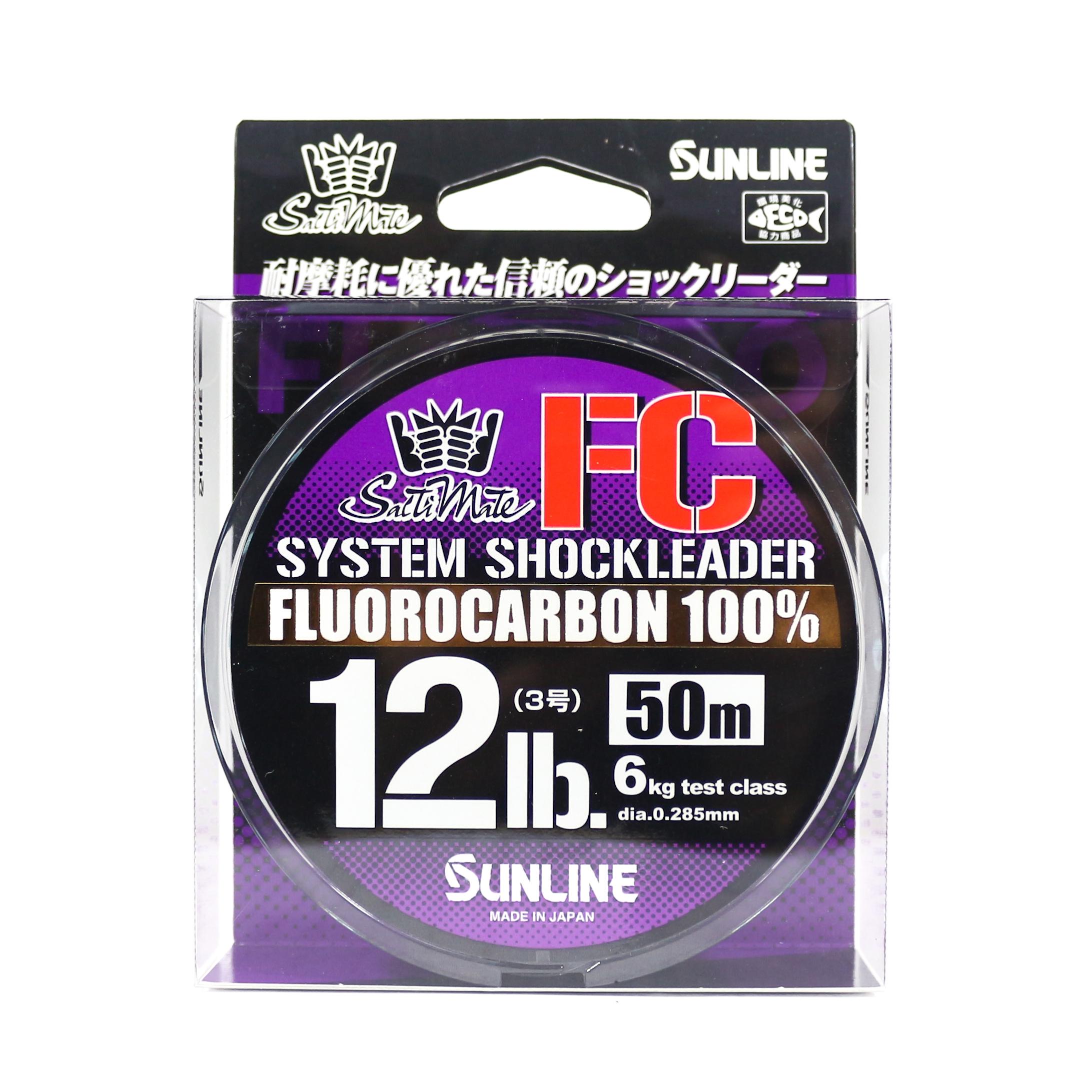 Sunline Saltwater System Shock Leader Fluorocarbon FC 50m 12lb (9147)