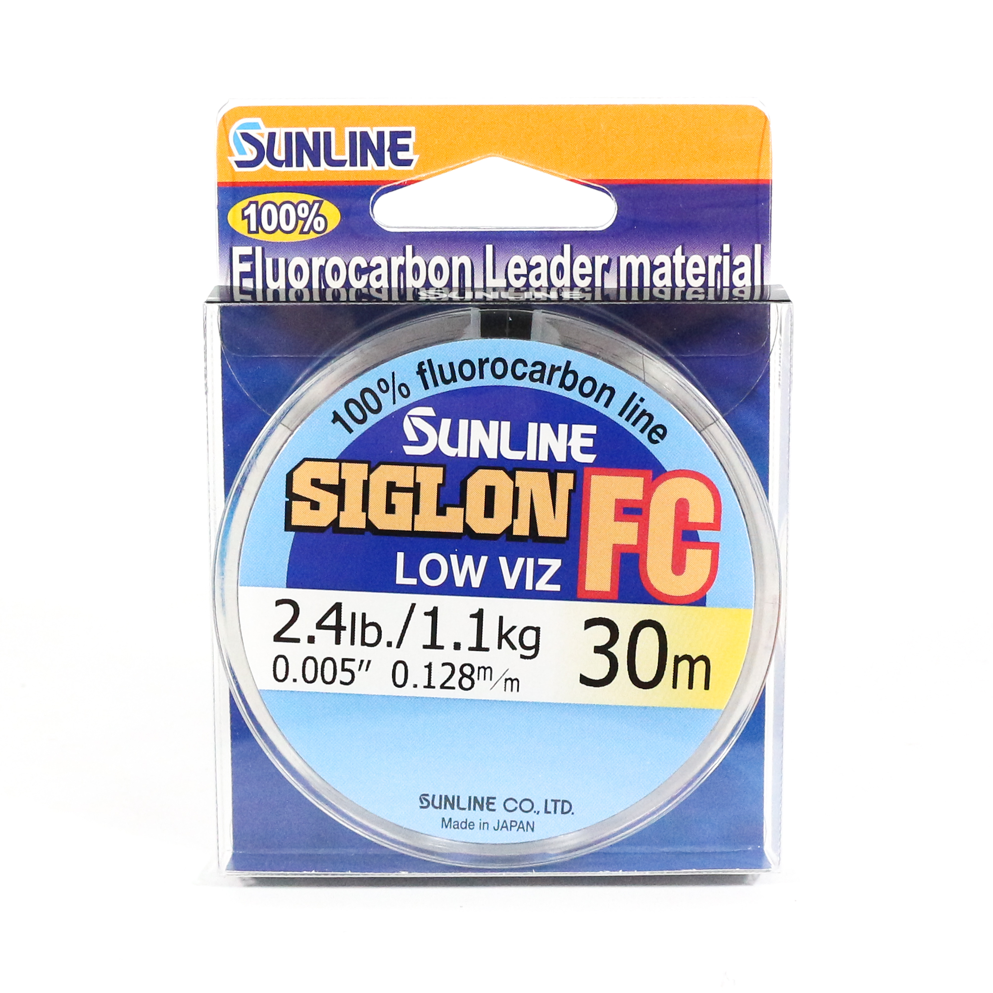 Sunline Siglon FC Fluorocarbon Line 30m 2.4lb Diameter 0.128 mm (5686)