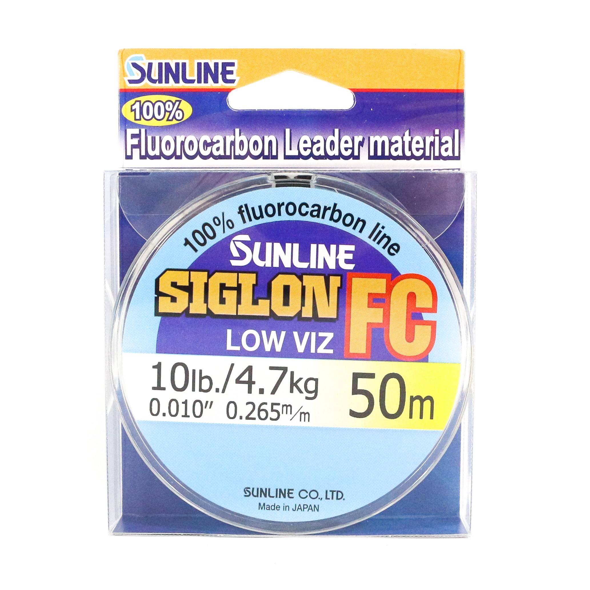Sunline Siglon FC Fluorocarbon Line 50m 10lb Diameter 0.265 mm (5853)